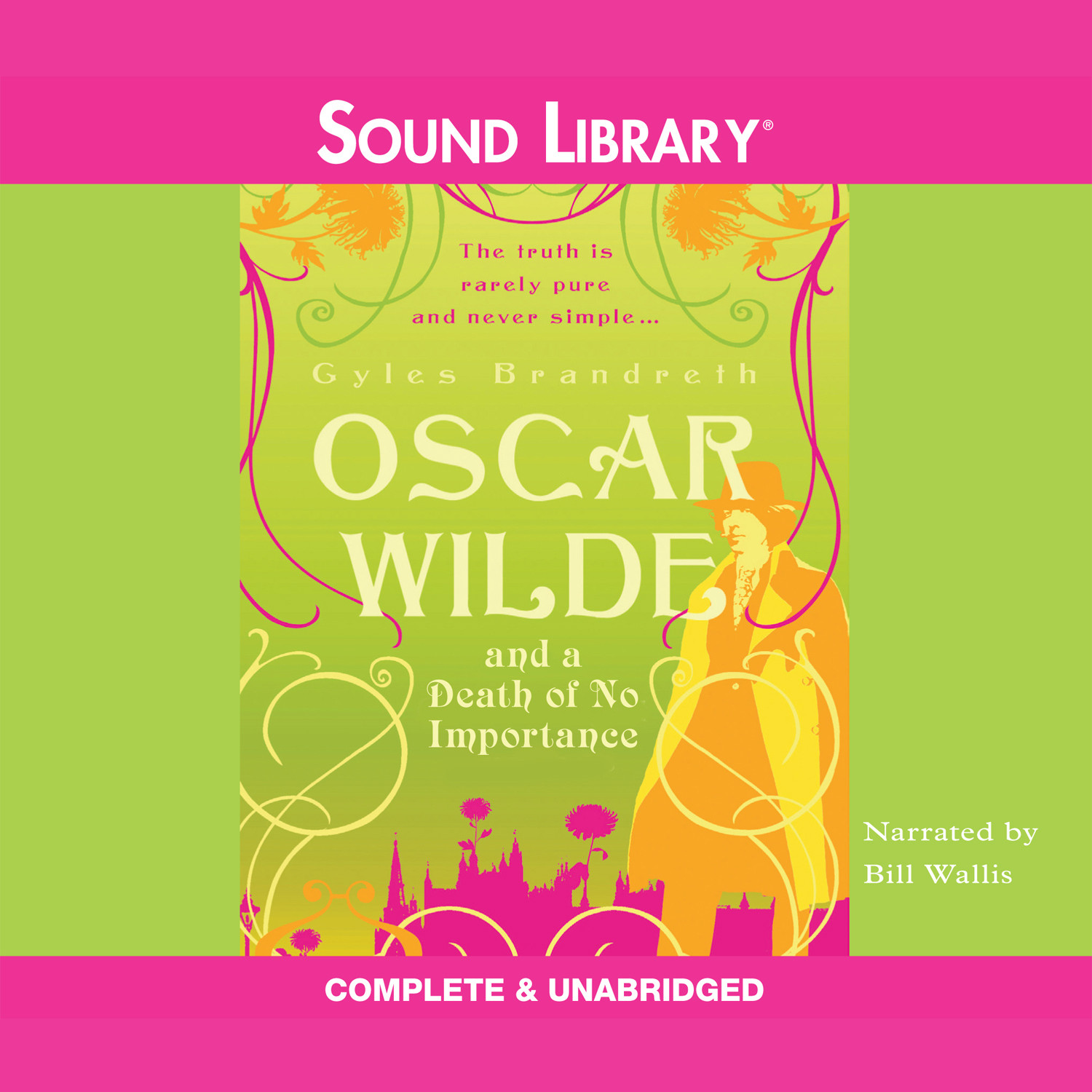 Printable Oscar Wilde and a Death of No Importance Audiobook Cover Art