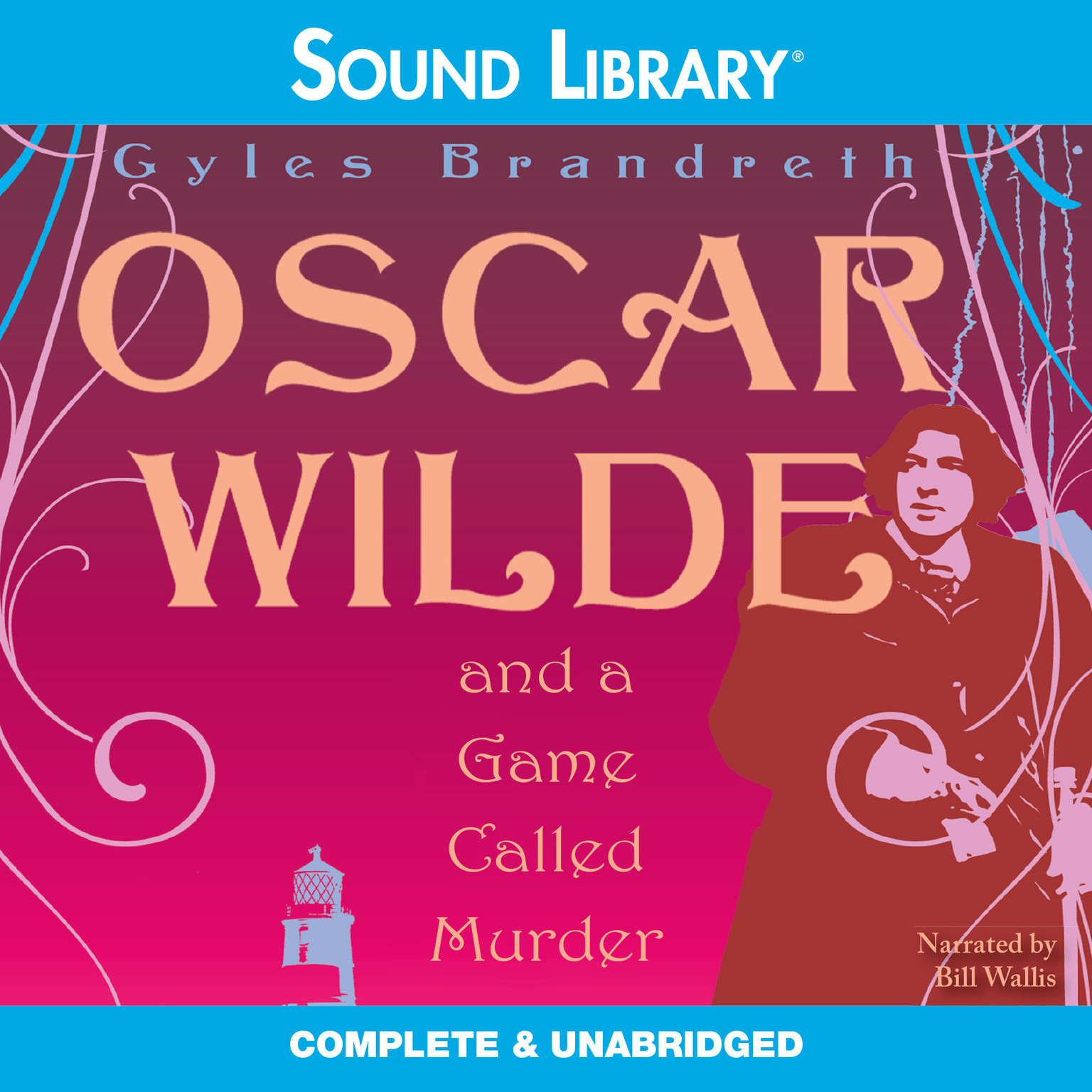 Printable Oscar Wilde and a Game Called Murder Audiobook Cover Art