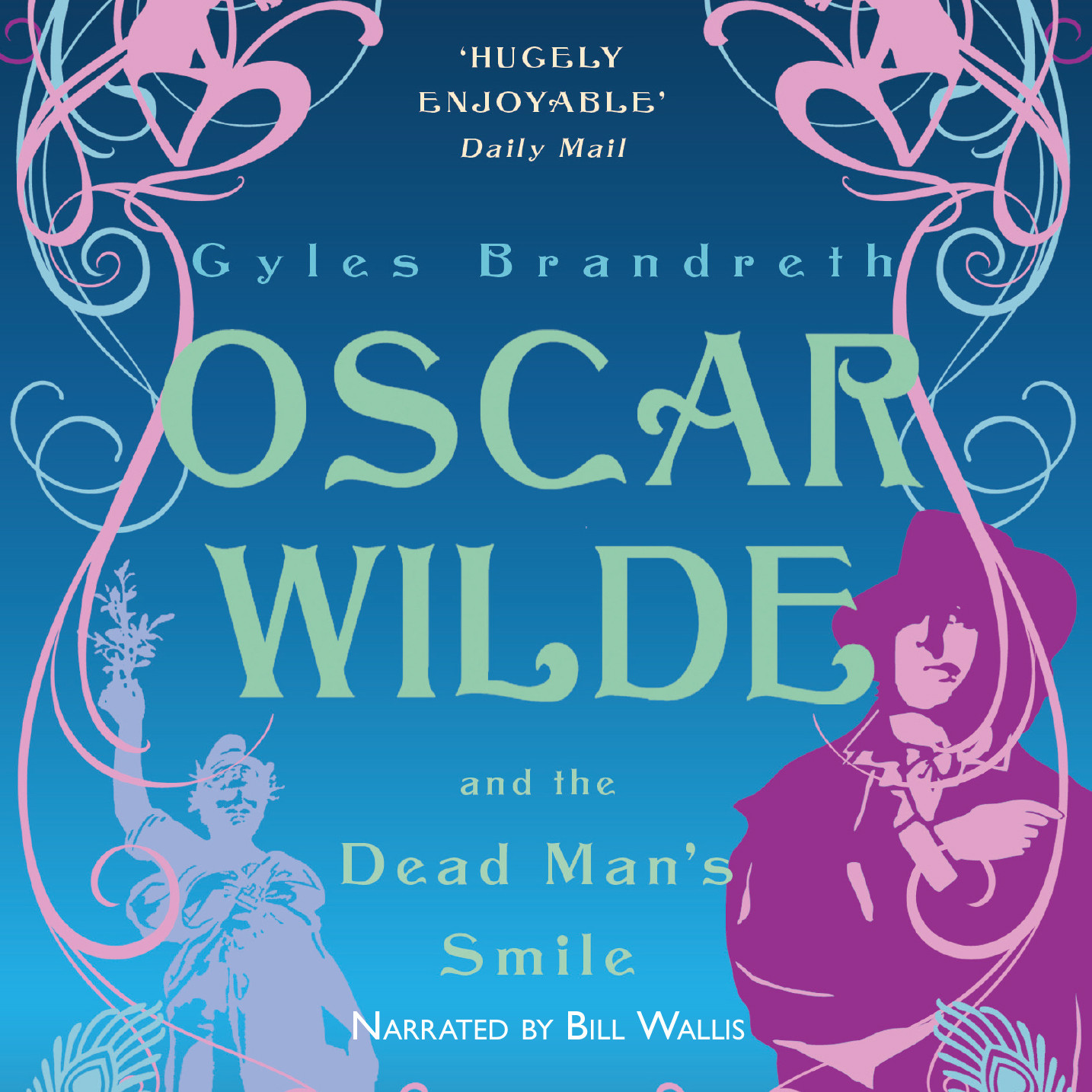 Printable Oscar Wilde and the Dead Man's Smile Audiobook Cover Art