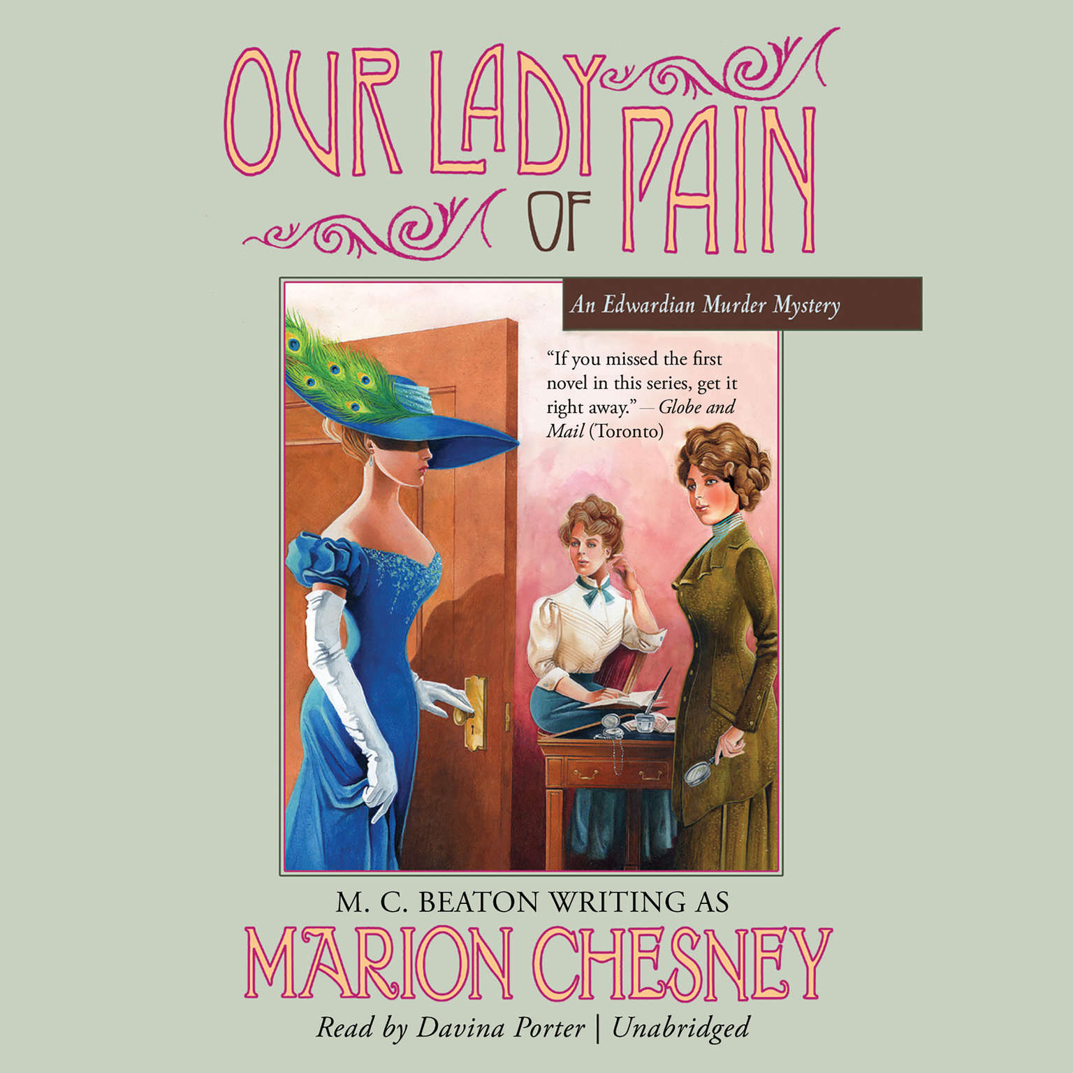 Printable Our Lady of Pain Audiobook Cover Art
