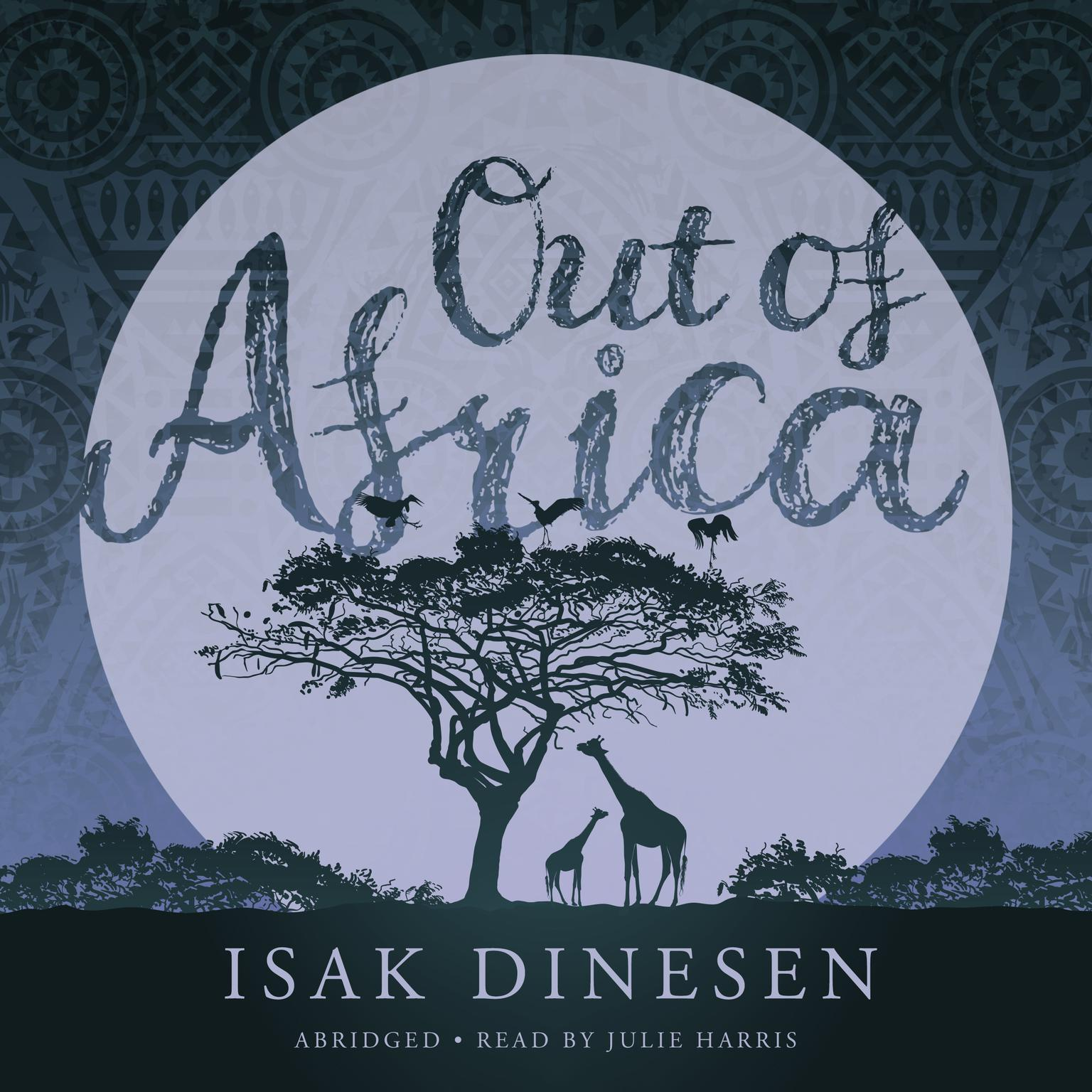 Printable Out of Africa Audiobook Cover Art