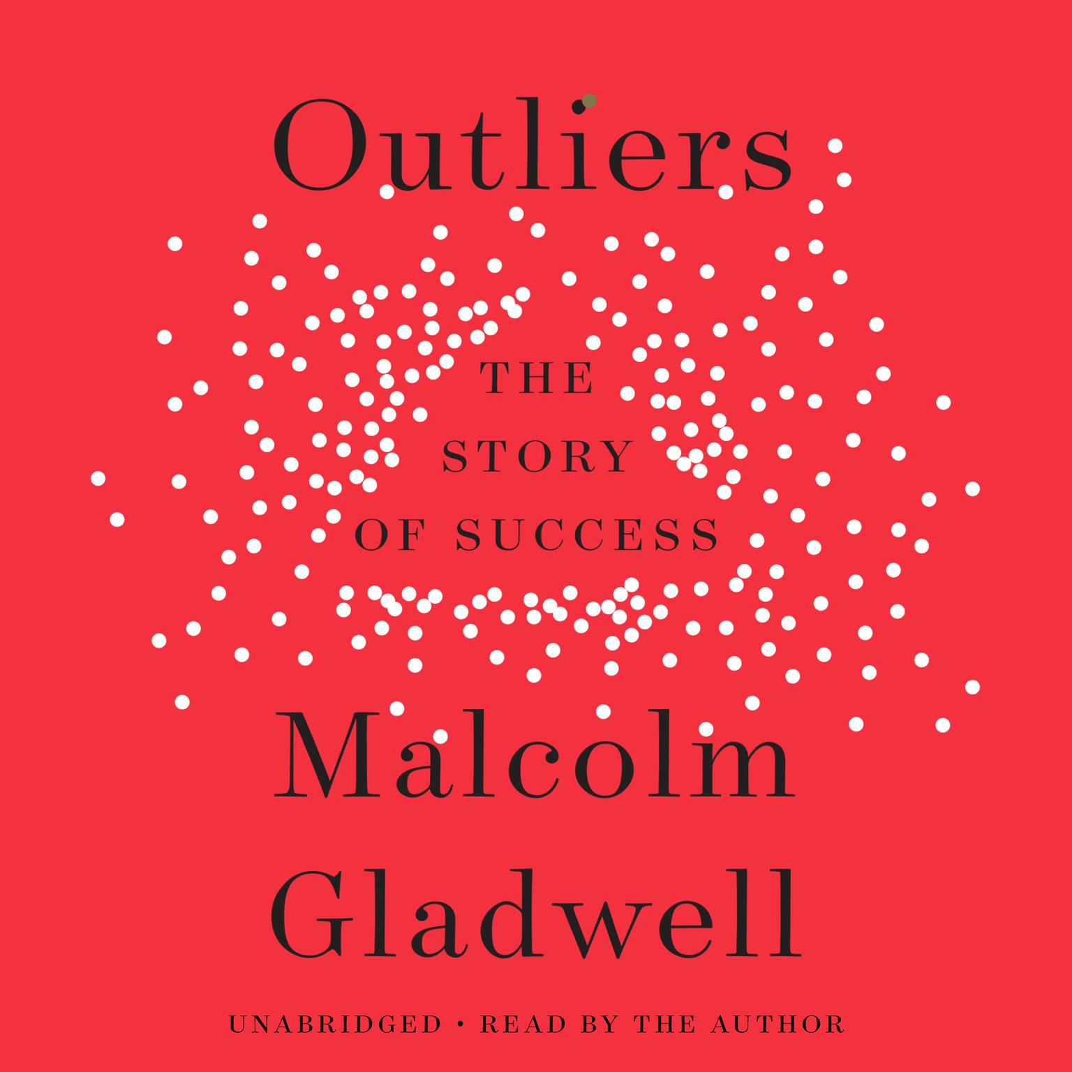 Printable Outliers: The Story of Success Audiobook Cover Art