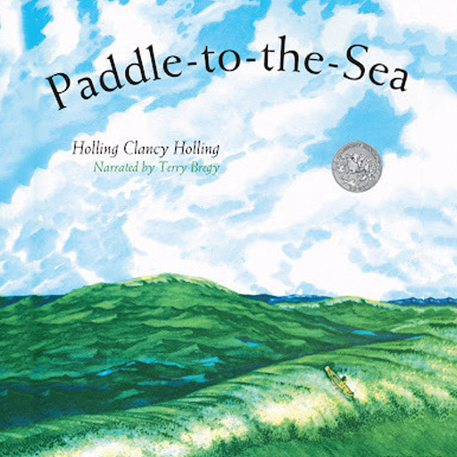 Printable Paddle-to-the-Sea Audiobook Cover Art