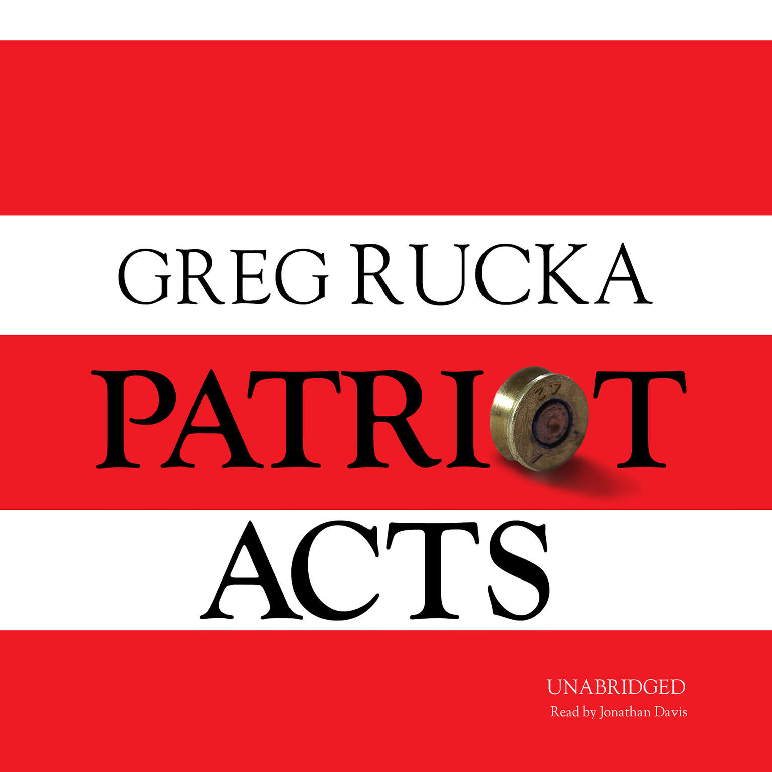 Printable Patriot Acts Audiobook Cover Art