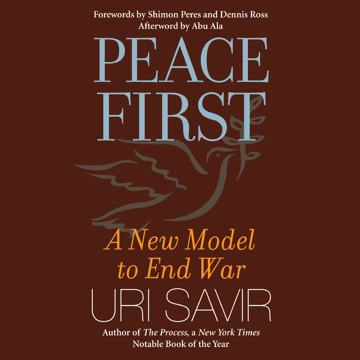 Printable Peace First: A New Model to End War Audiobook Cover Art
