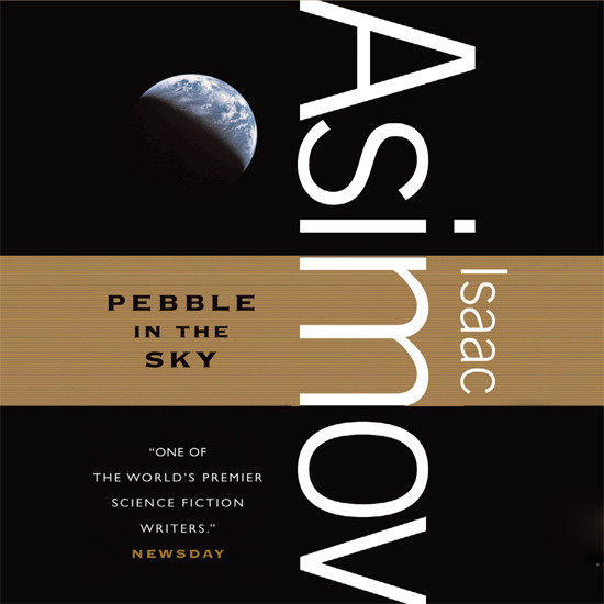 Printable Pebble in the Sky Audiobook Cover Art