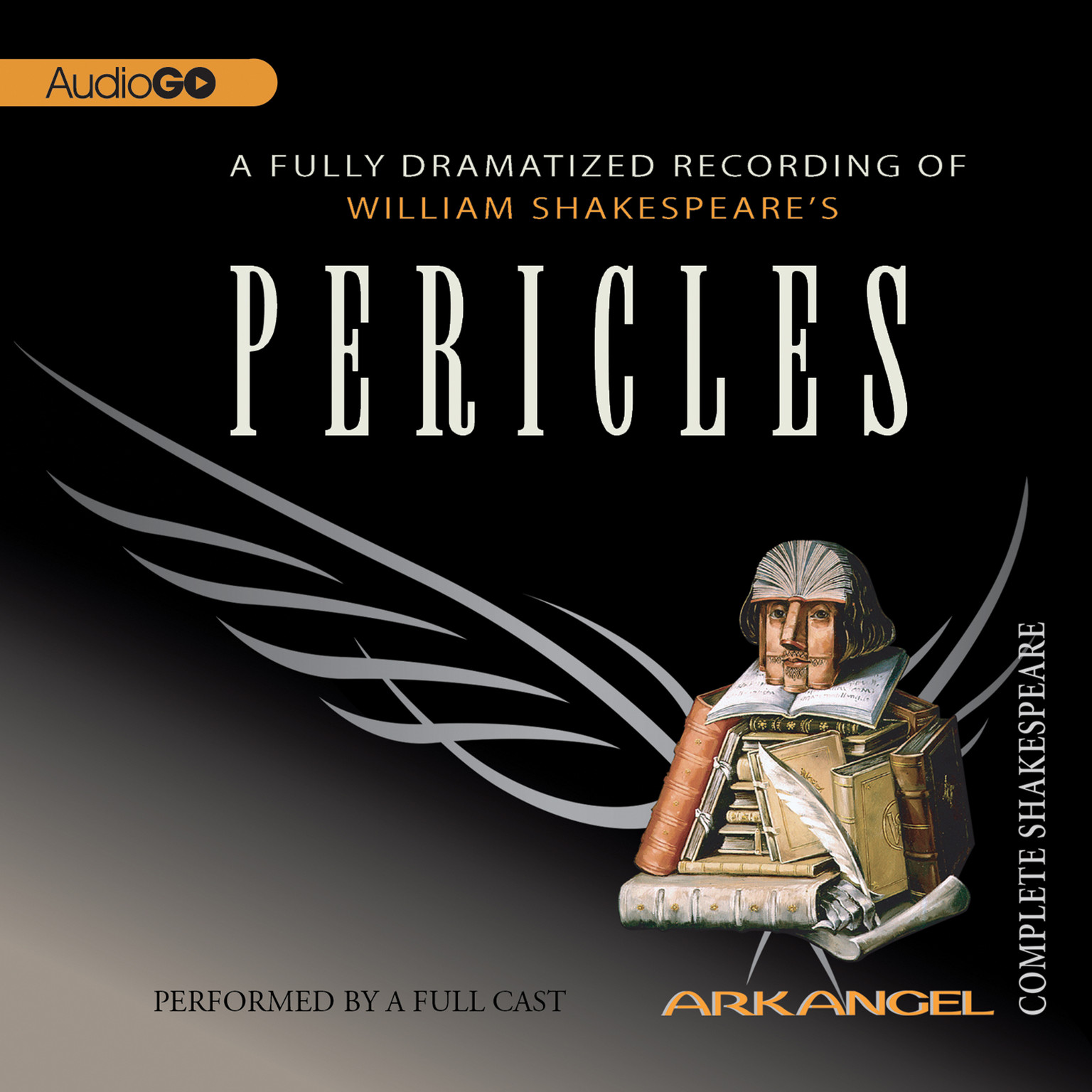 Printable Pericles Audiobook Cover Art