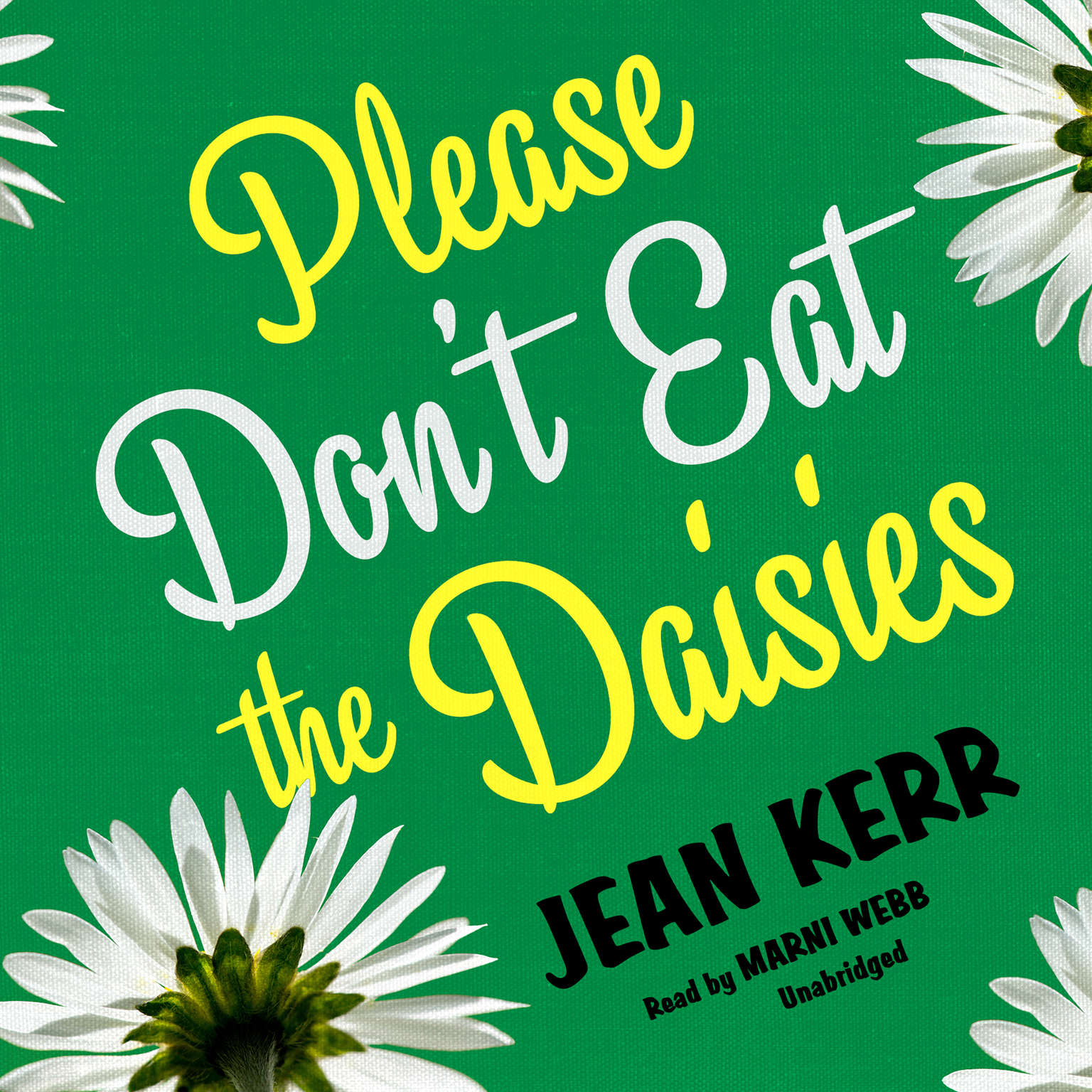 Printable Please Don't Eat the Daisies Audiobook Cover Art