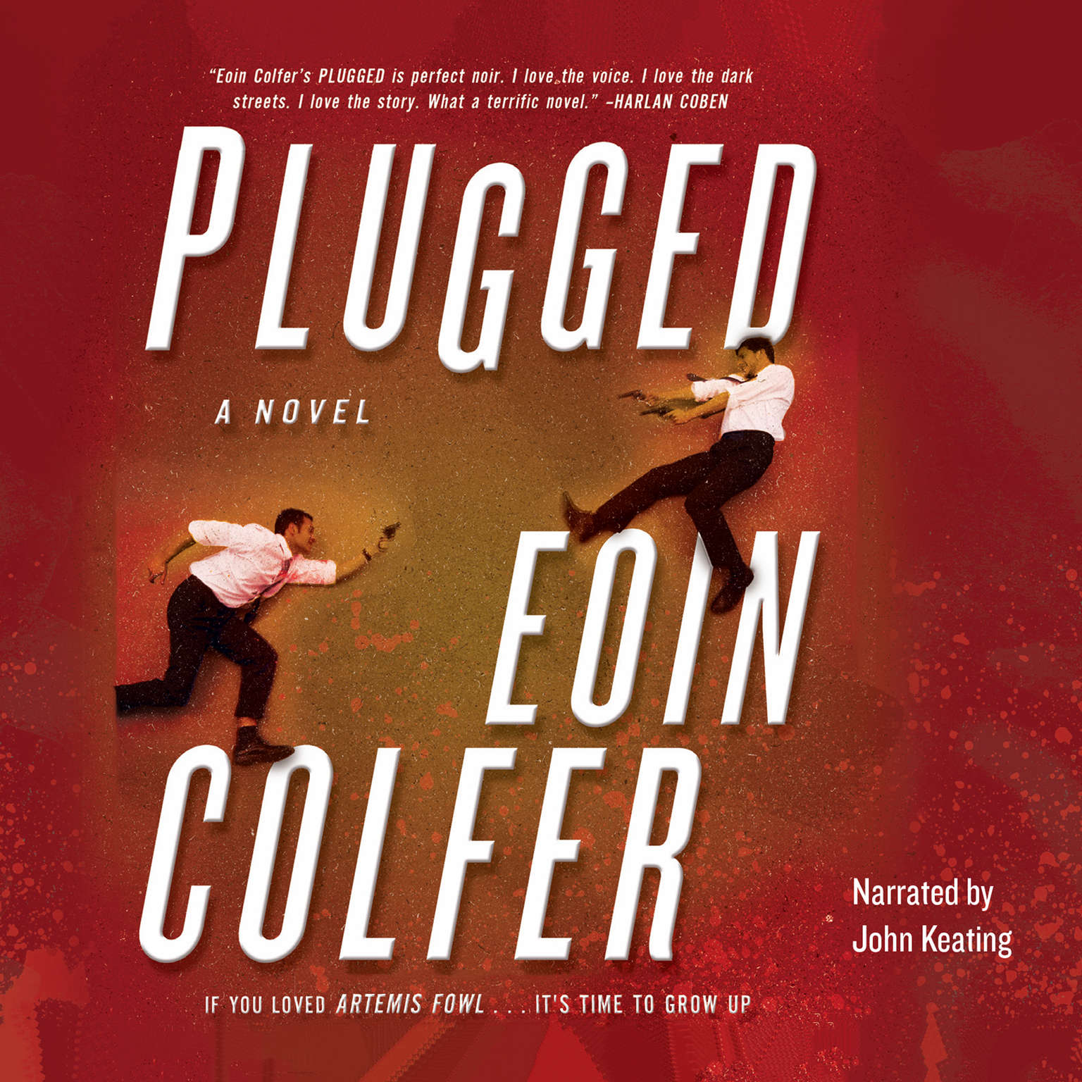 Printable Plugged Audiobook Cover Art