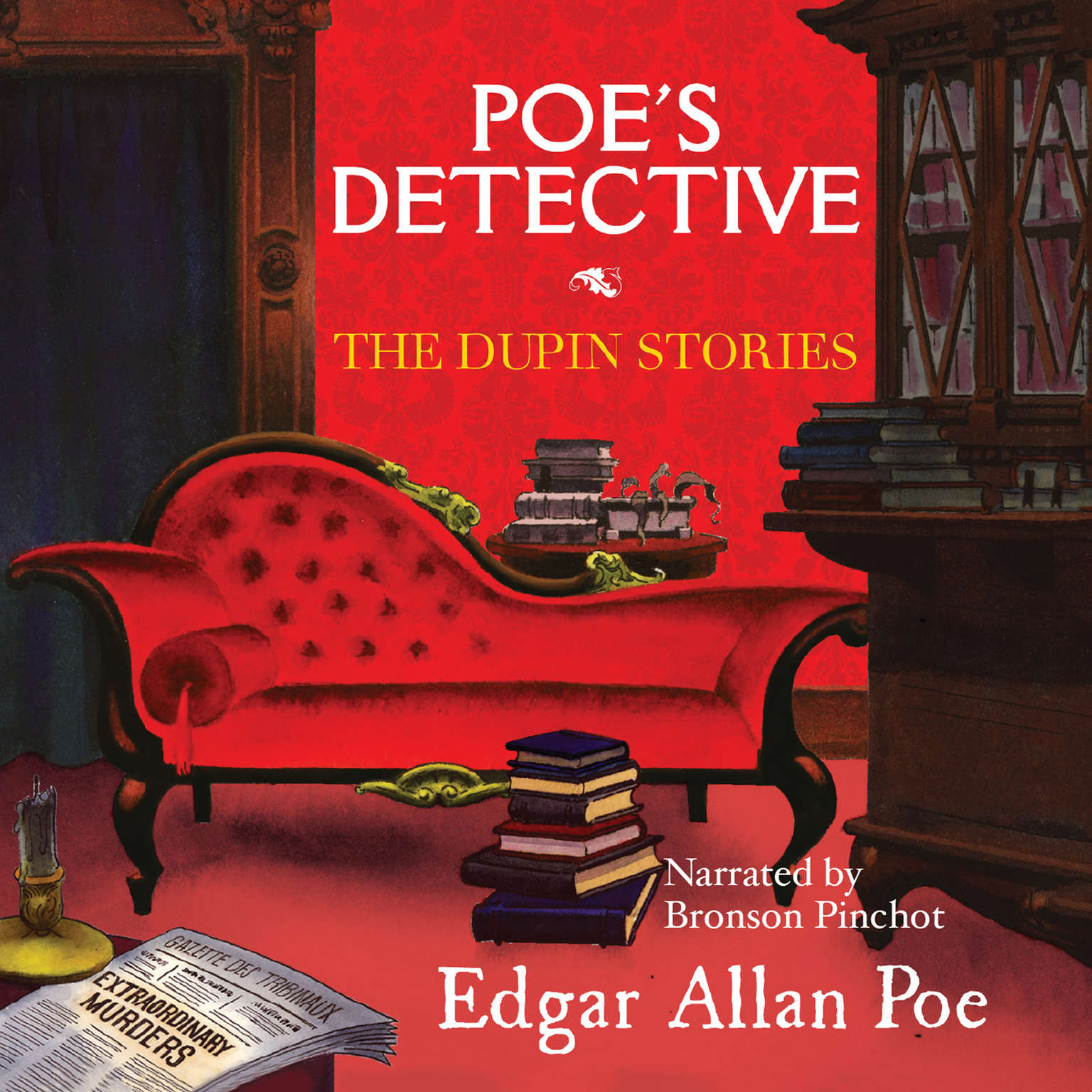 Printable Poe's Detective: The Dupin Stories Audiobook Cover Art