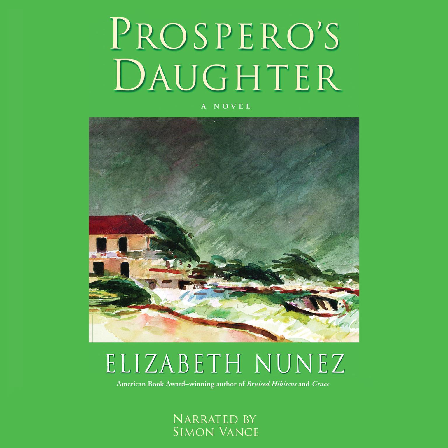 Printable Prospero's Daughter Audiobook Cover Art