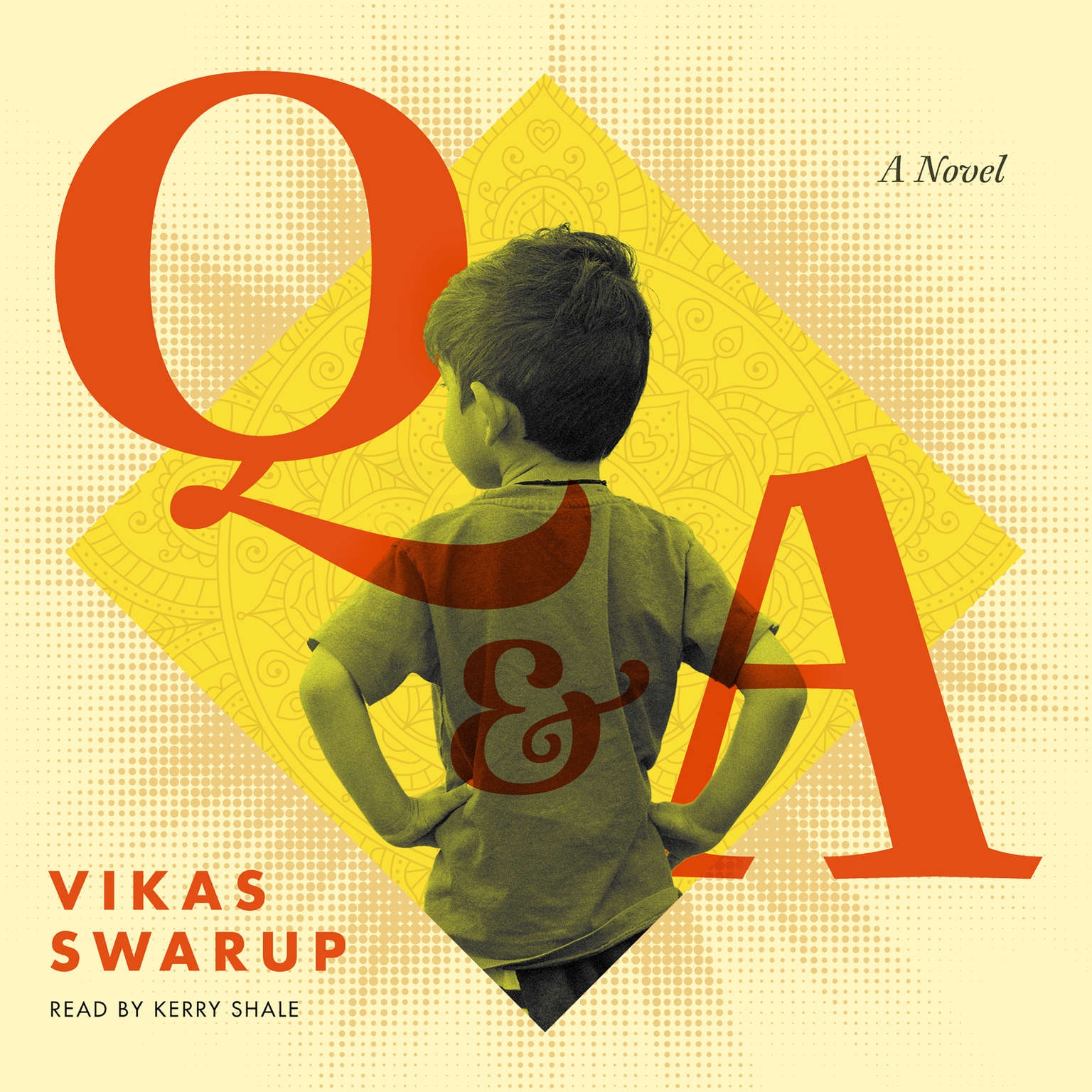 Printable Q & A: A Novel Audiobook Cover Art