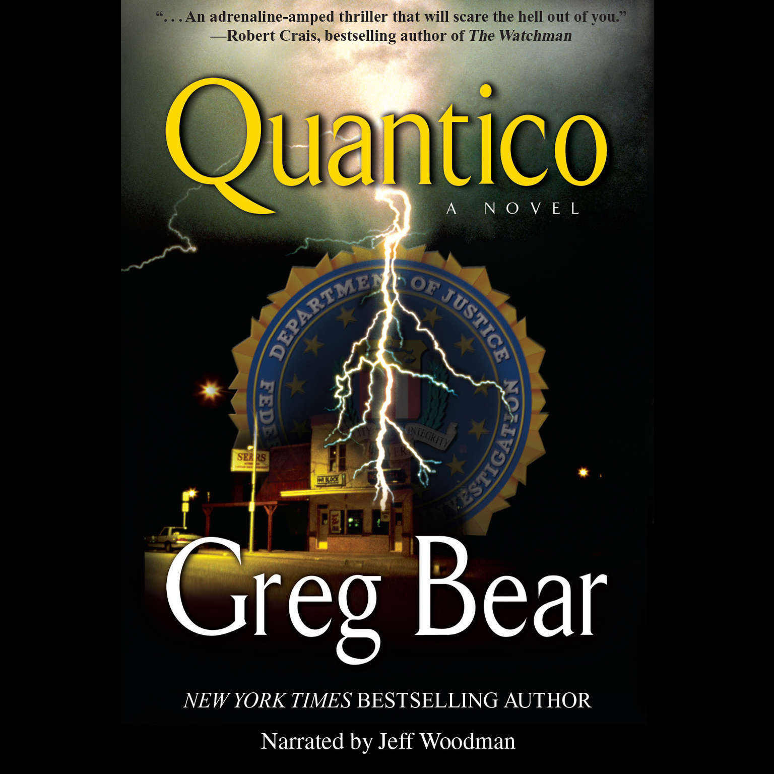 Printable Quantico Audiobook Cover Art