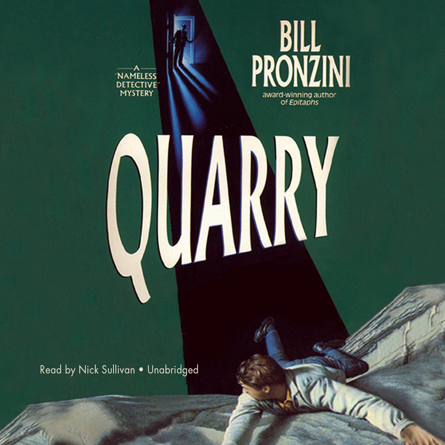 Printable Quarry Audiobook Cover Art
