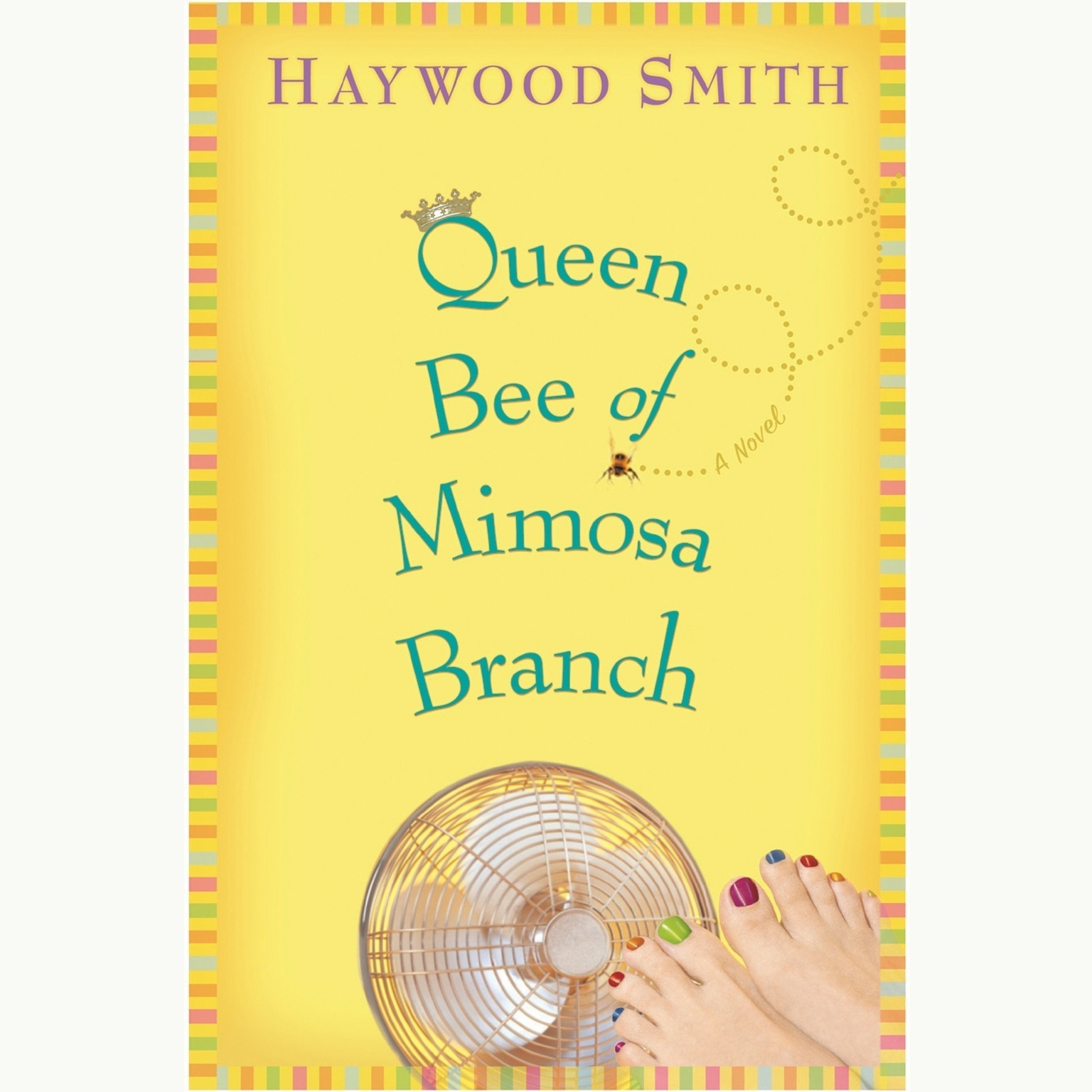 Printable Queen Bee of Mimosa Branch Audiobook Cover Art
