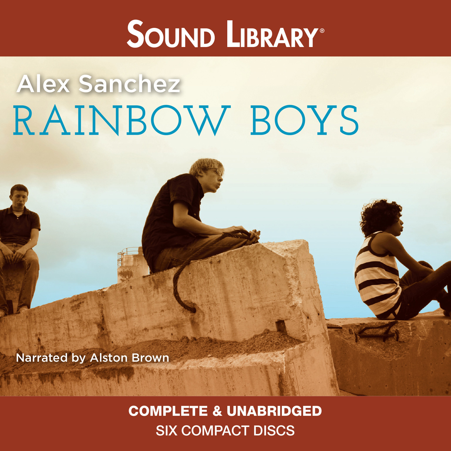 Printable Rainbow Boys Audiobook Cover Art