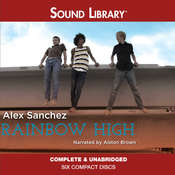 Rainbow High Audiobook, by Alex Sanchez