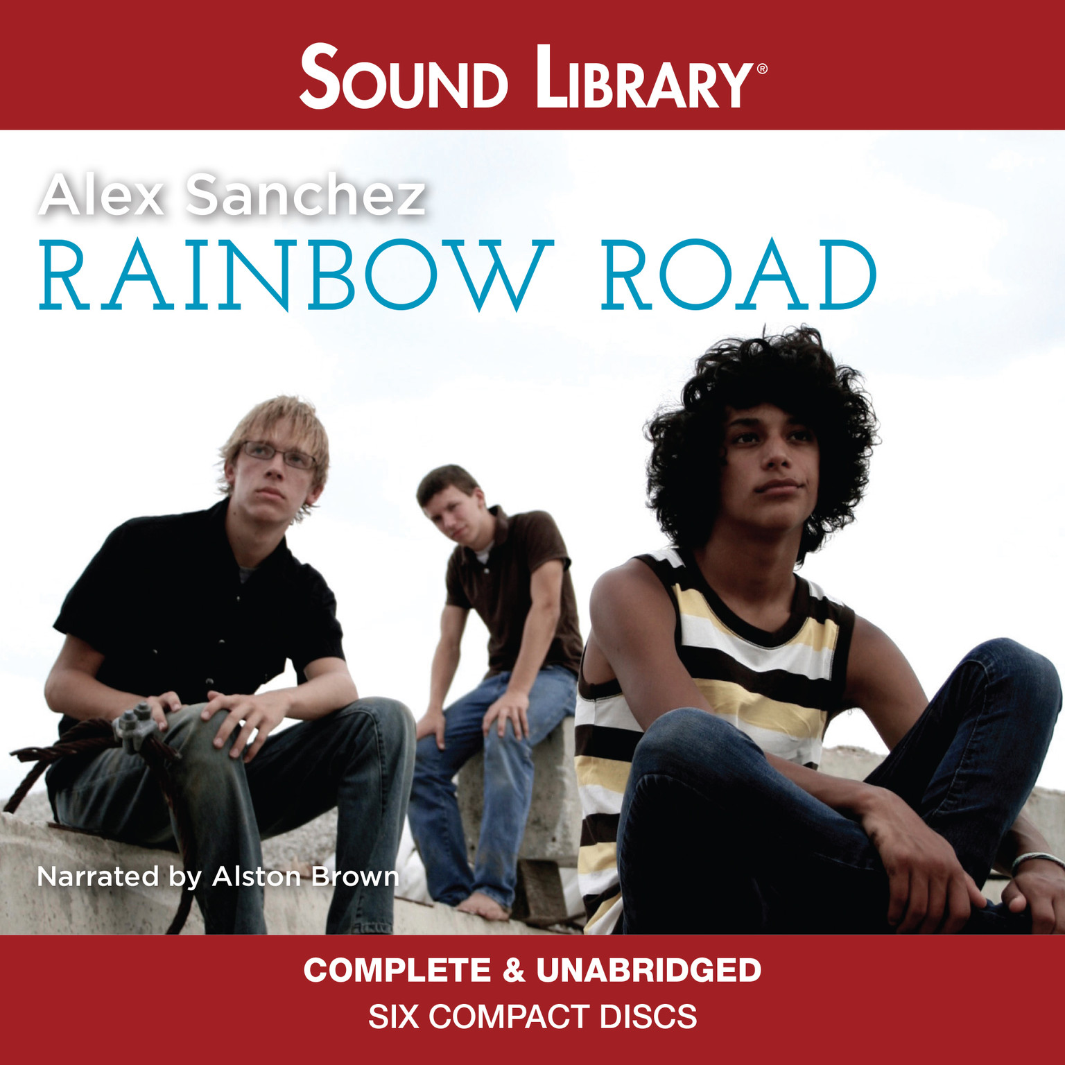 Printable Rainbow Road Audiobook Cover Art