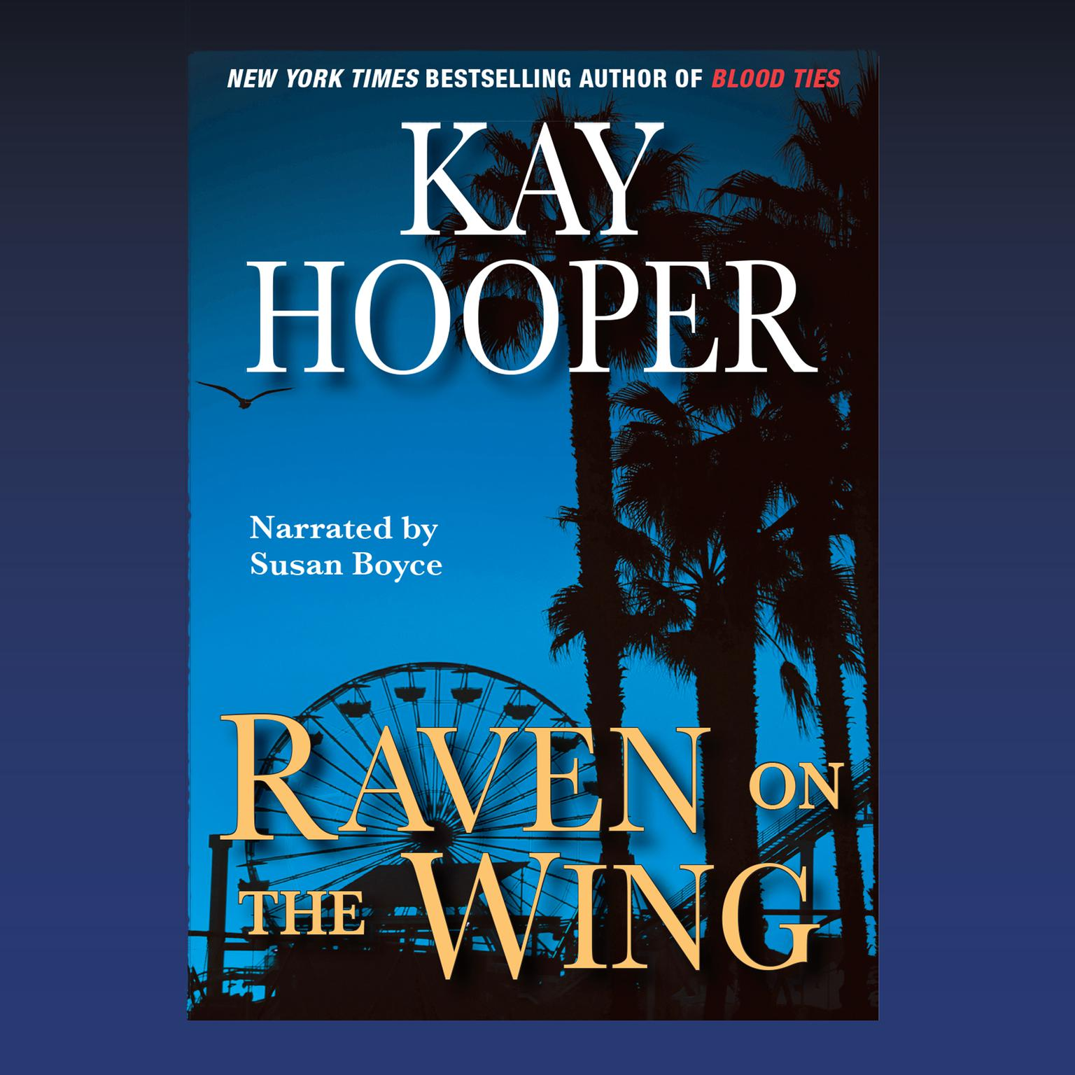 Printable Raven on the Wing Audiobook Cover Art