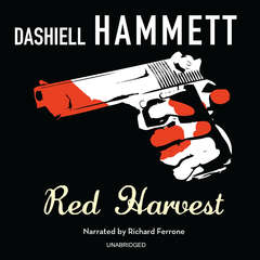 Red Harvest Audiobook, by Dashiell Hammett