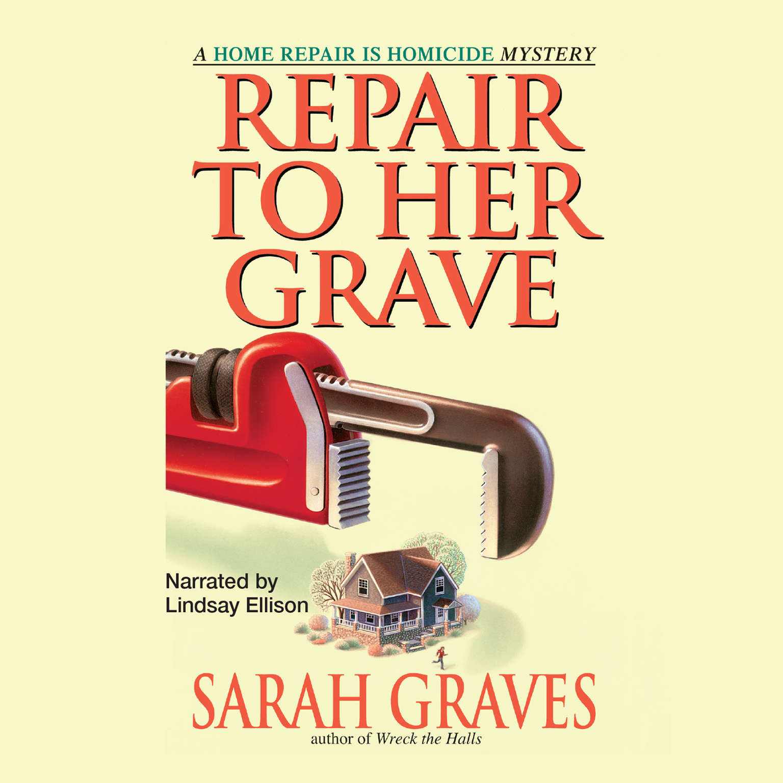 Printable Repair to Her Grave Audiobook Cover Art