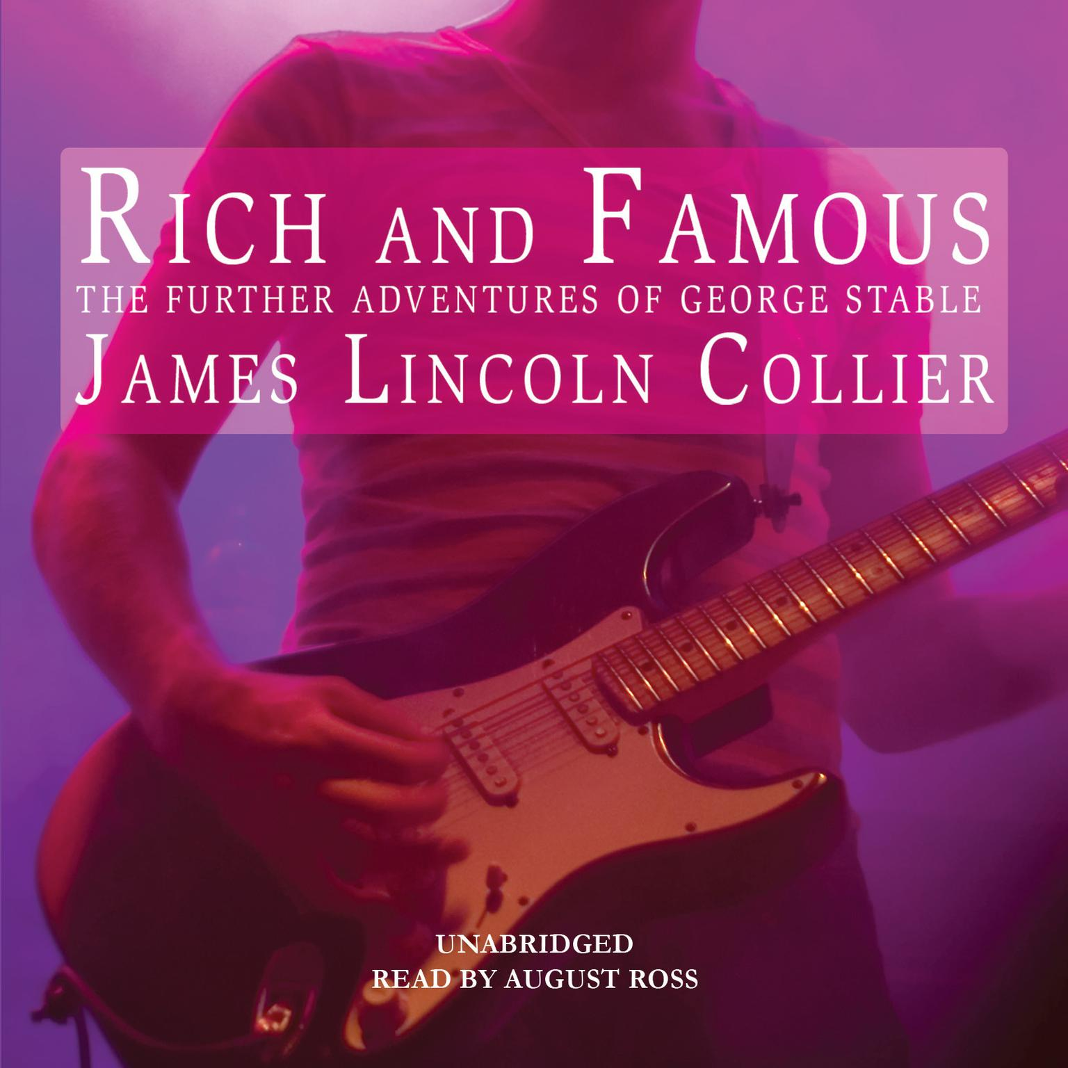 Printable Rich and Famous: The Further Adventures of George Stable Audiobook Cover Art