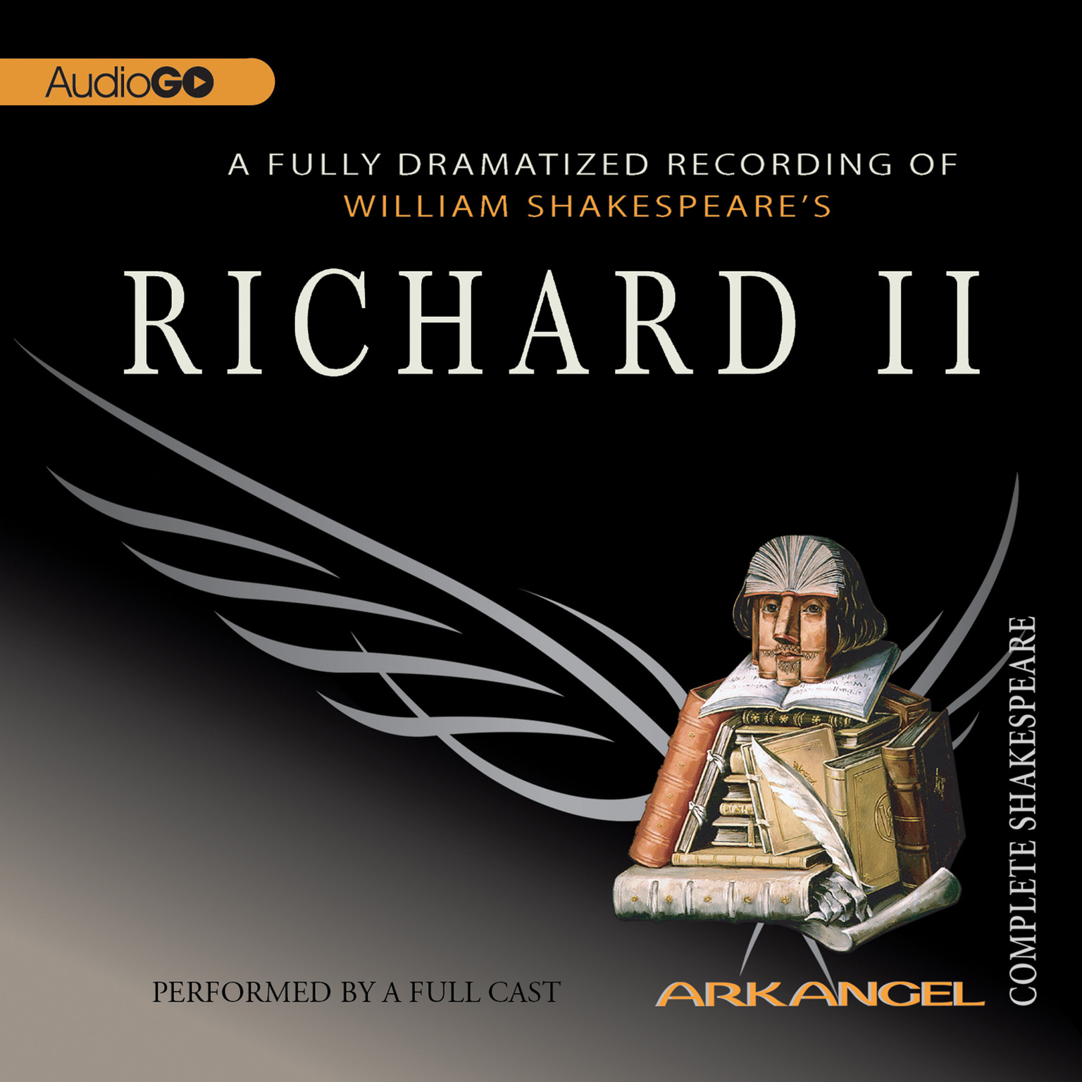 Printable Richard II Audiobook Cover Art