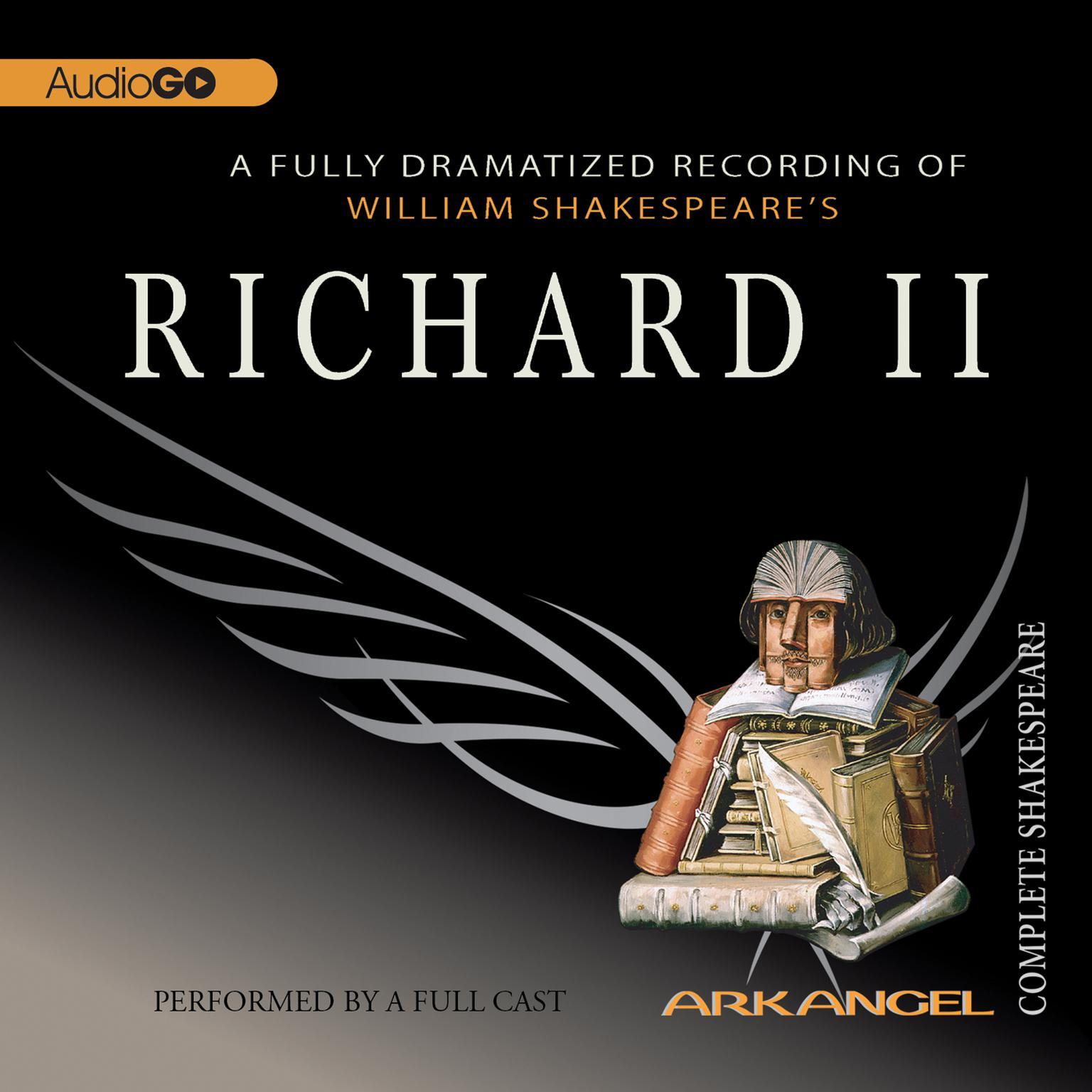 Printable Richard II Audiobook Cover Art