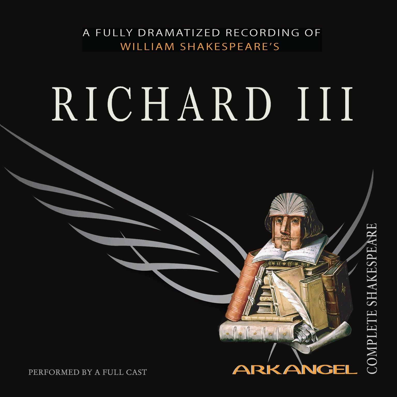 Printable Richard III Audiobook Cover Art