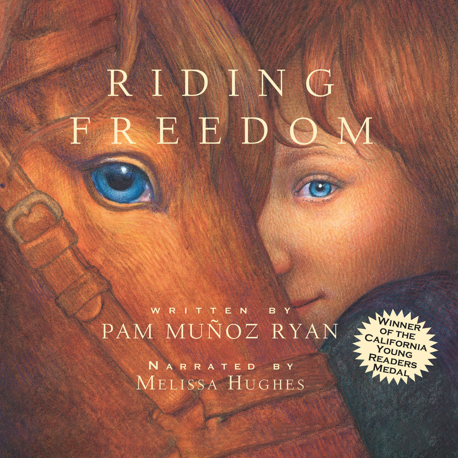 Printable Riding Freedom Audiobook Cover Art