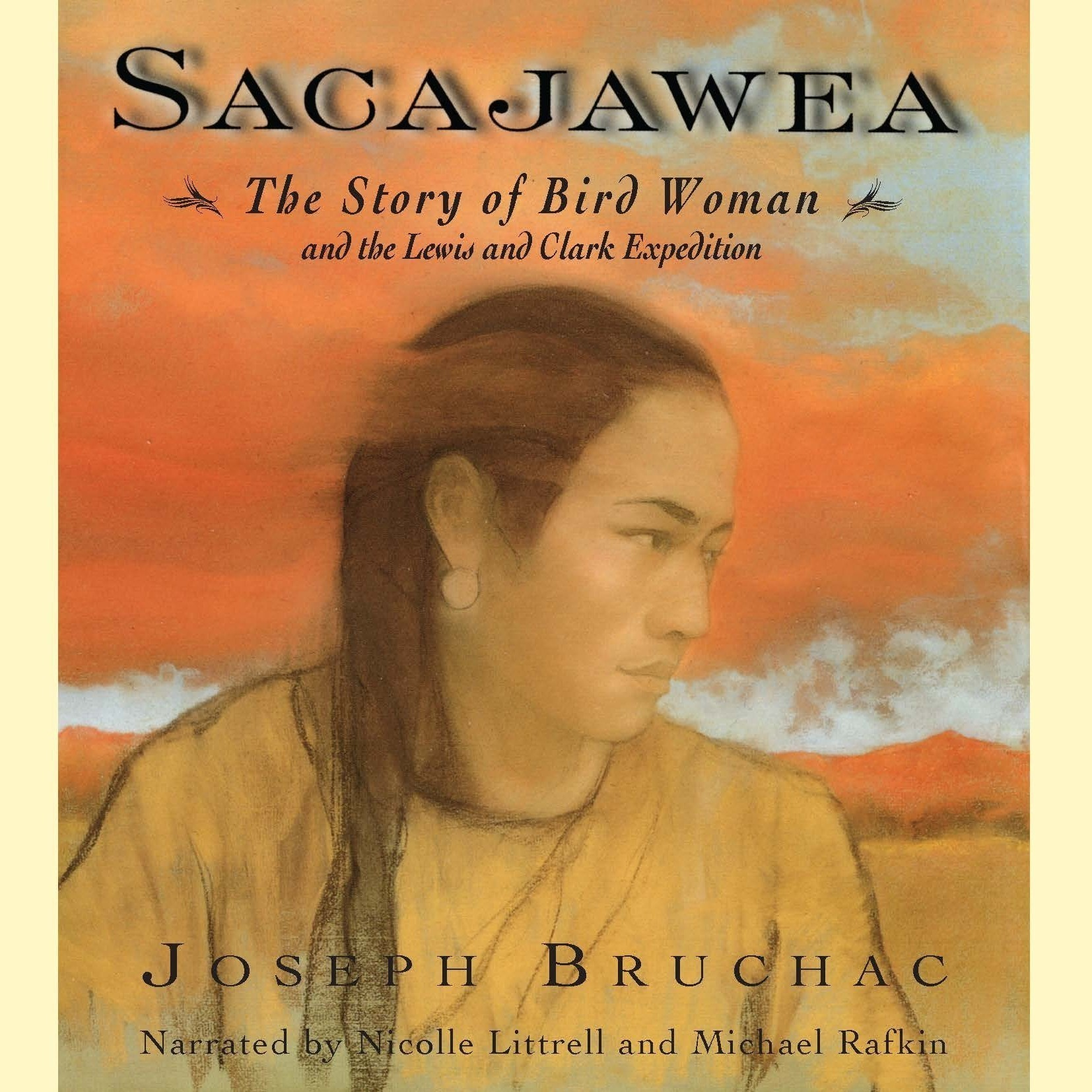 Printable Sacajawea Audiobook Cover Art