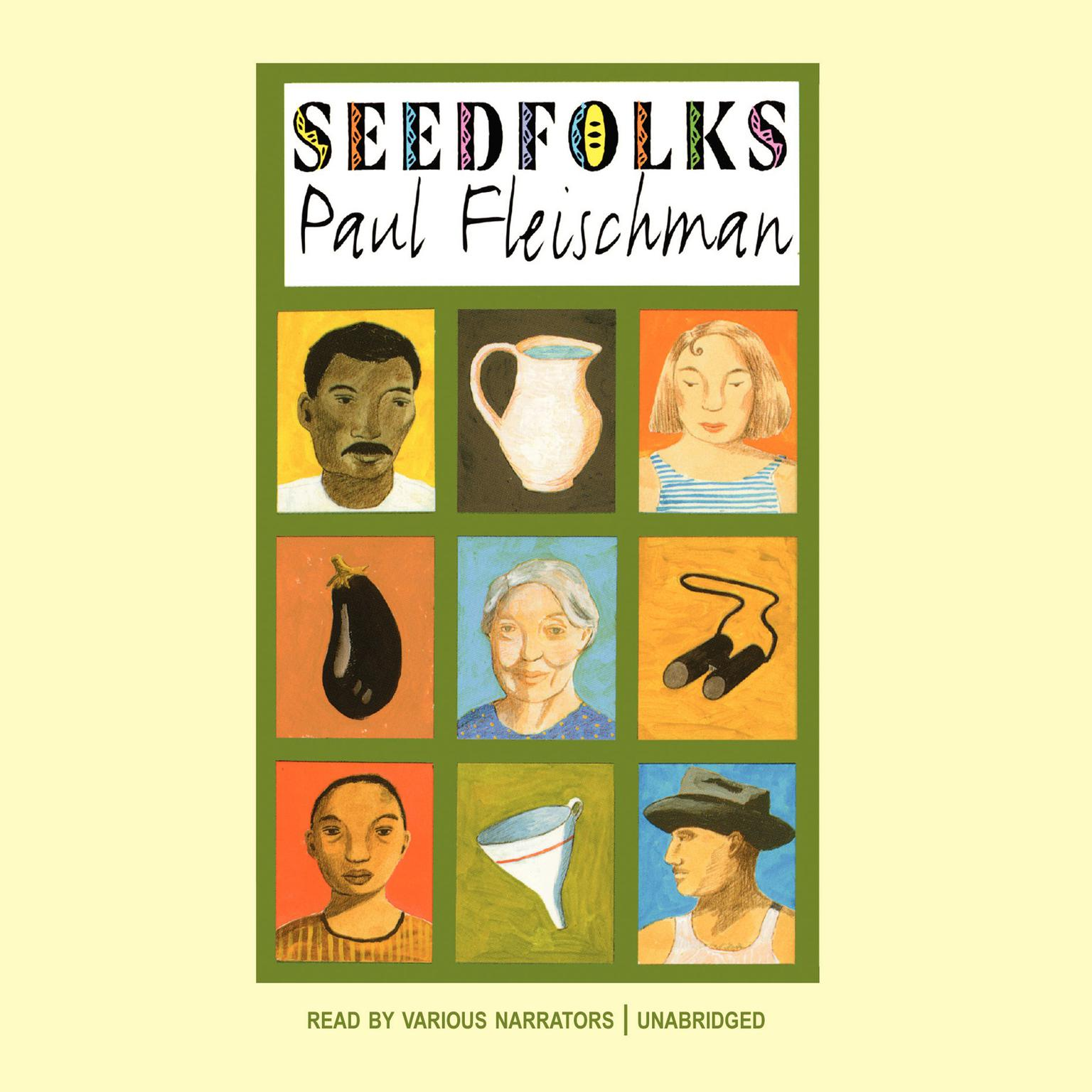 Printable Seedfolks Audiobook Cover Art
