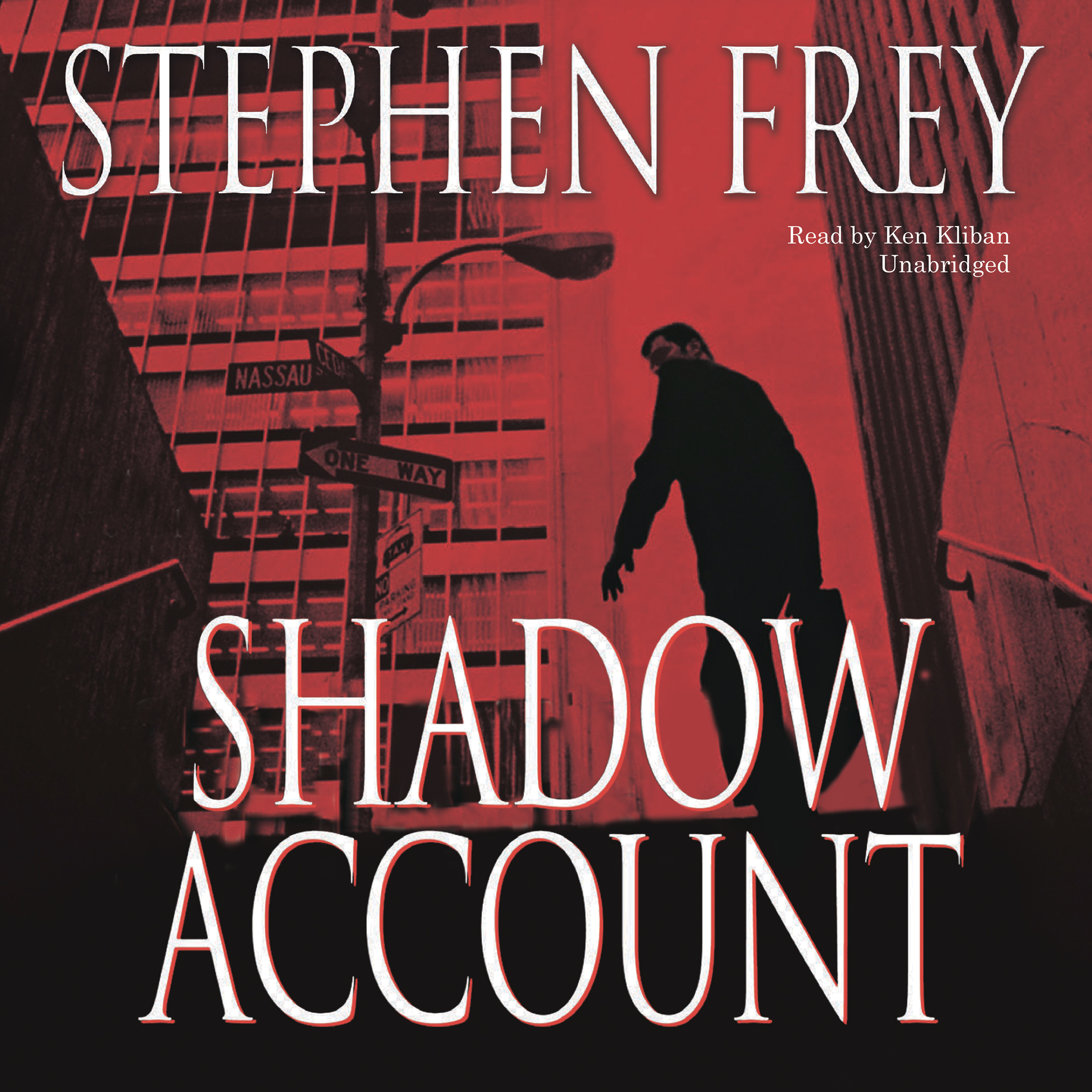 Printable Shadow Account: A Novel Audiobook Cover Art