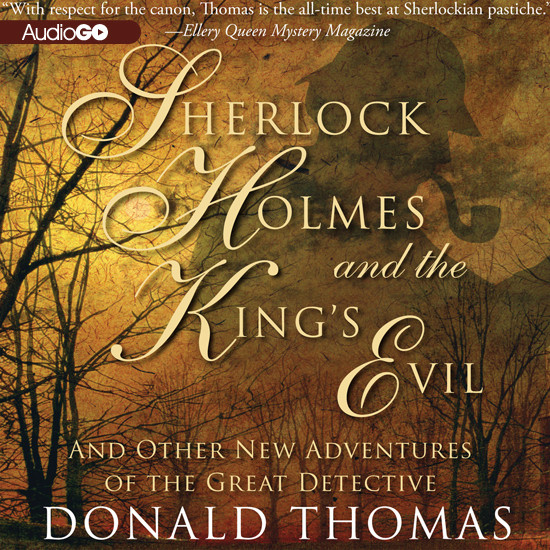 Printable Sherlock Holmes and the King's Evil: And Other New Adventures of the Great Detective Audiobook Cover Art