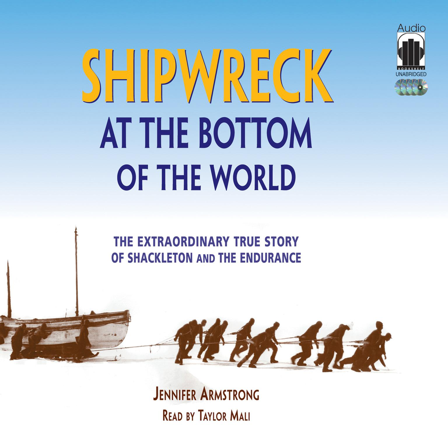Printable Shipwreck at the Bottom of the World: The Extraordinary True Story of Shackleton and the Endurance Audiobook Cover Art