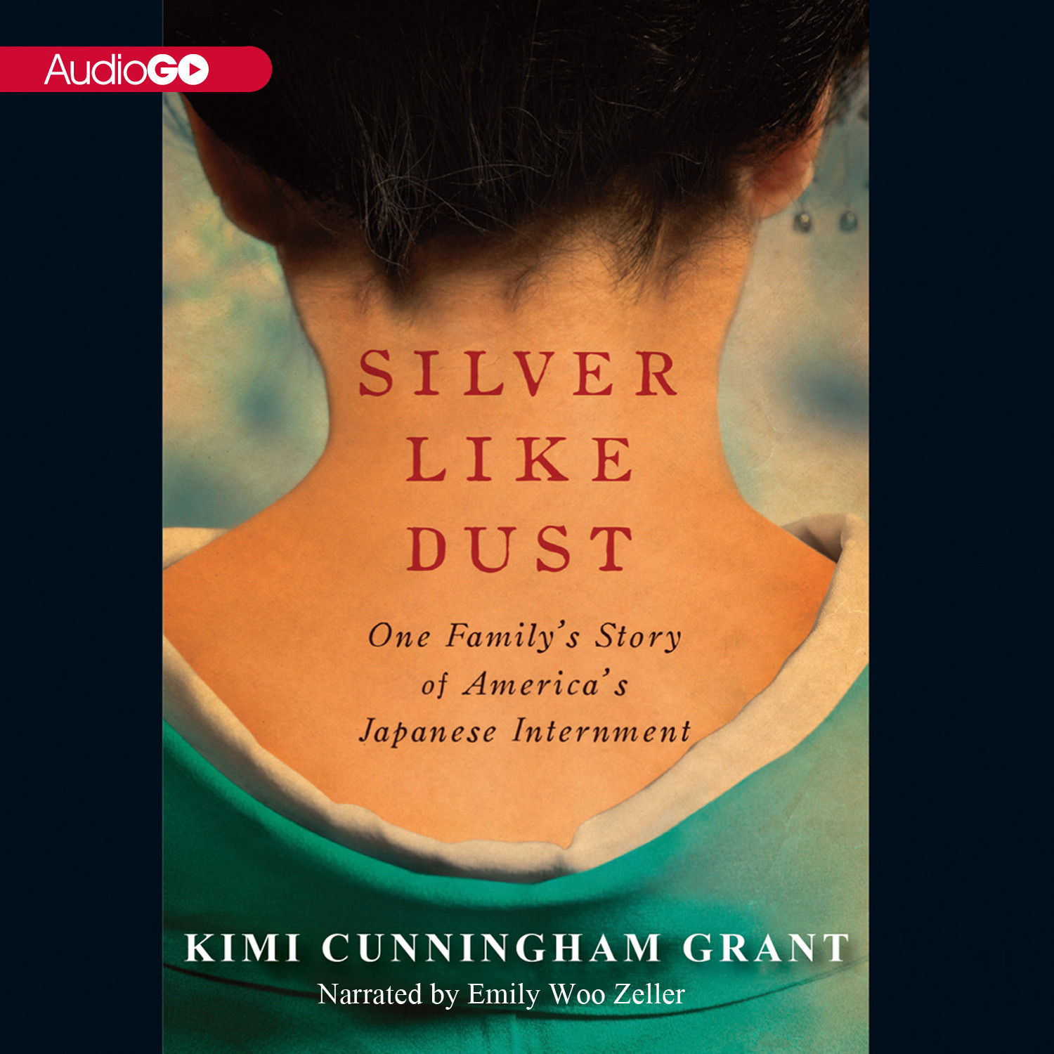 Printable Silver Like Dust: One Family's Story of Japanese Internment Audiobook Cover Art