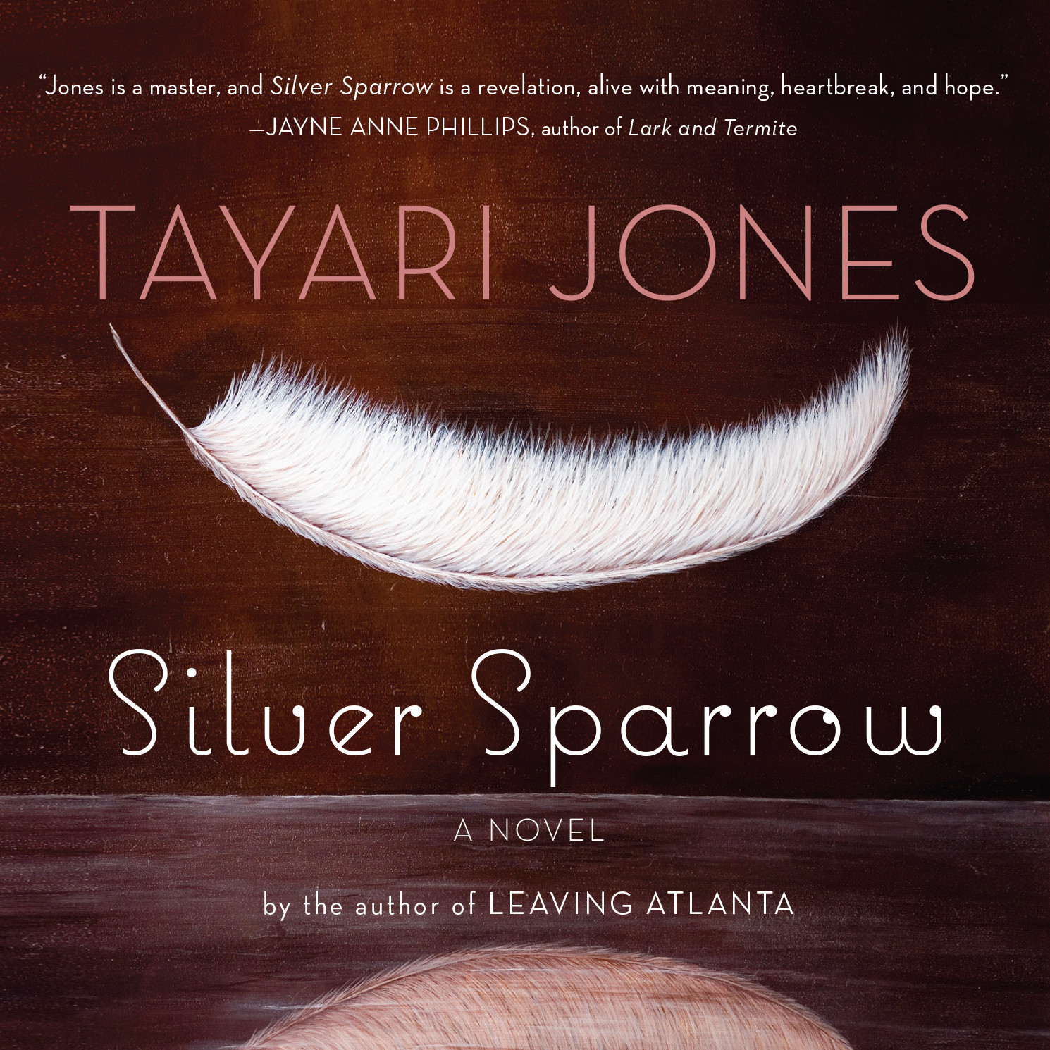 Printable Silver Sparrow Audiobook Cover Art