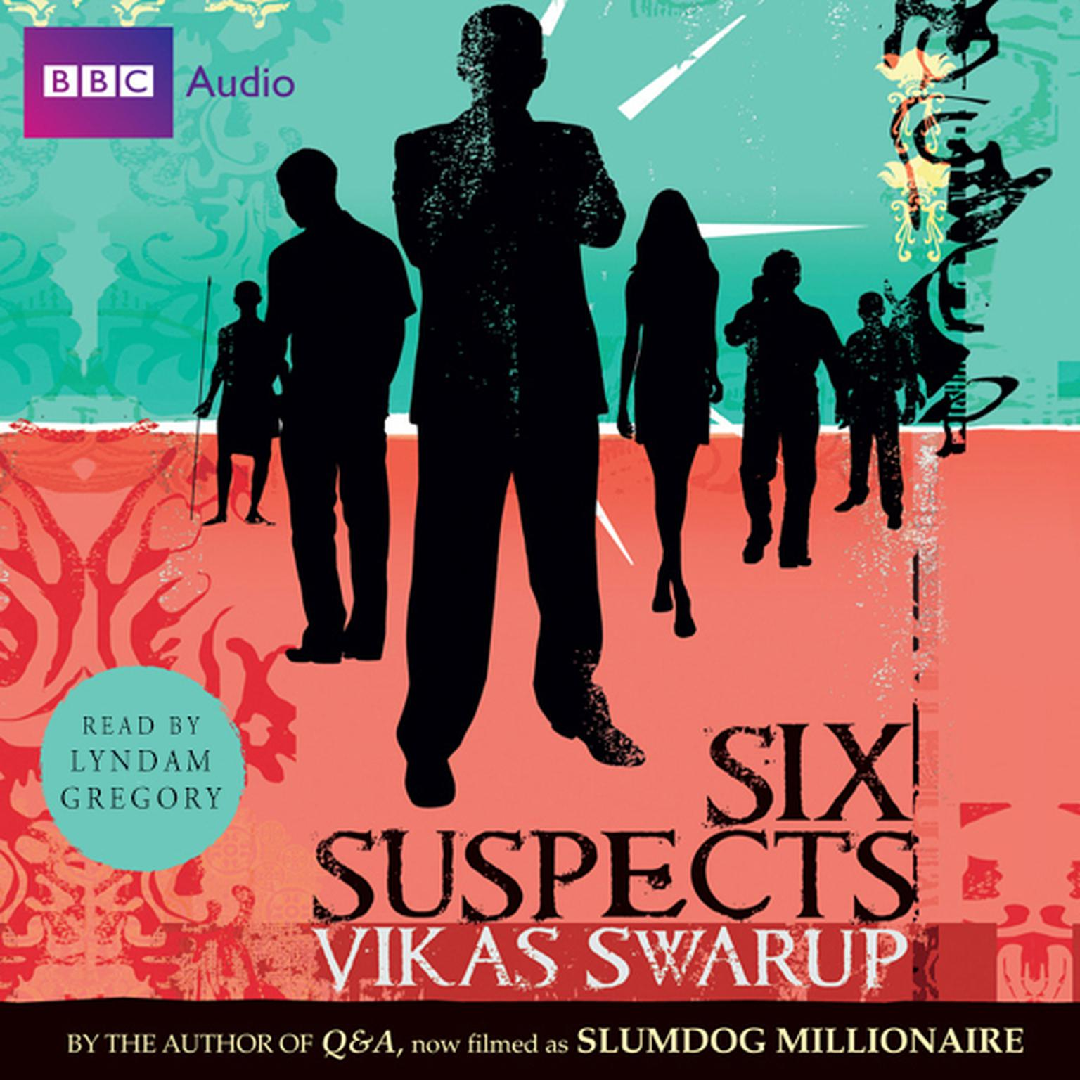 Printable Six Suspects Audiobook Cover Art