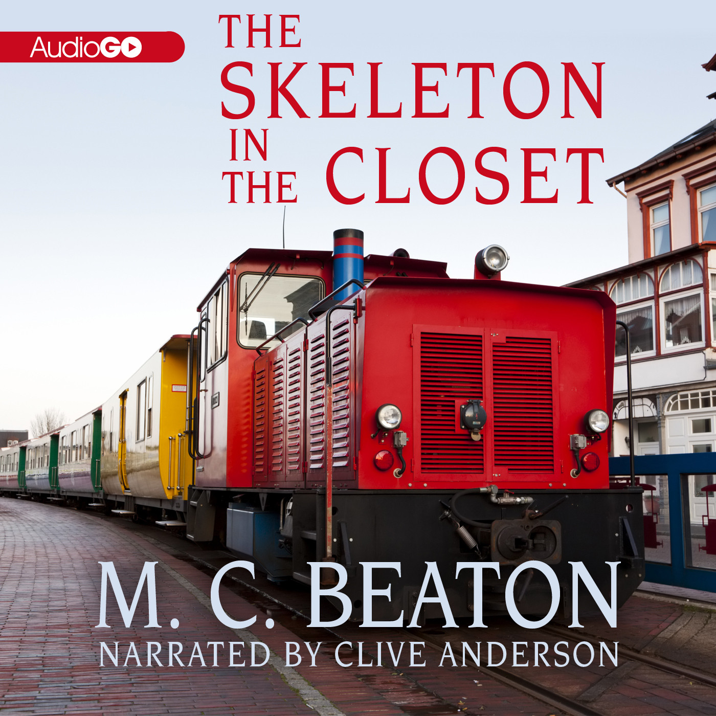 Printable The Skeleton in the Closet Audiobook Cover Art