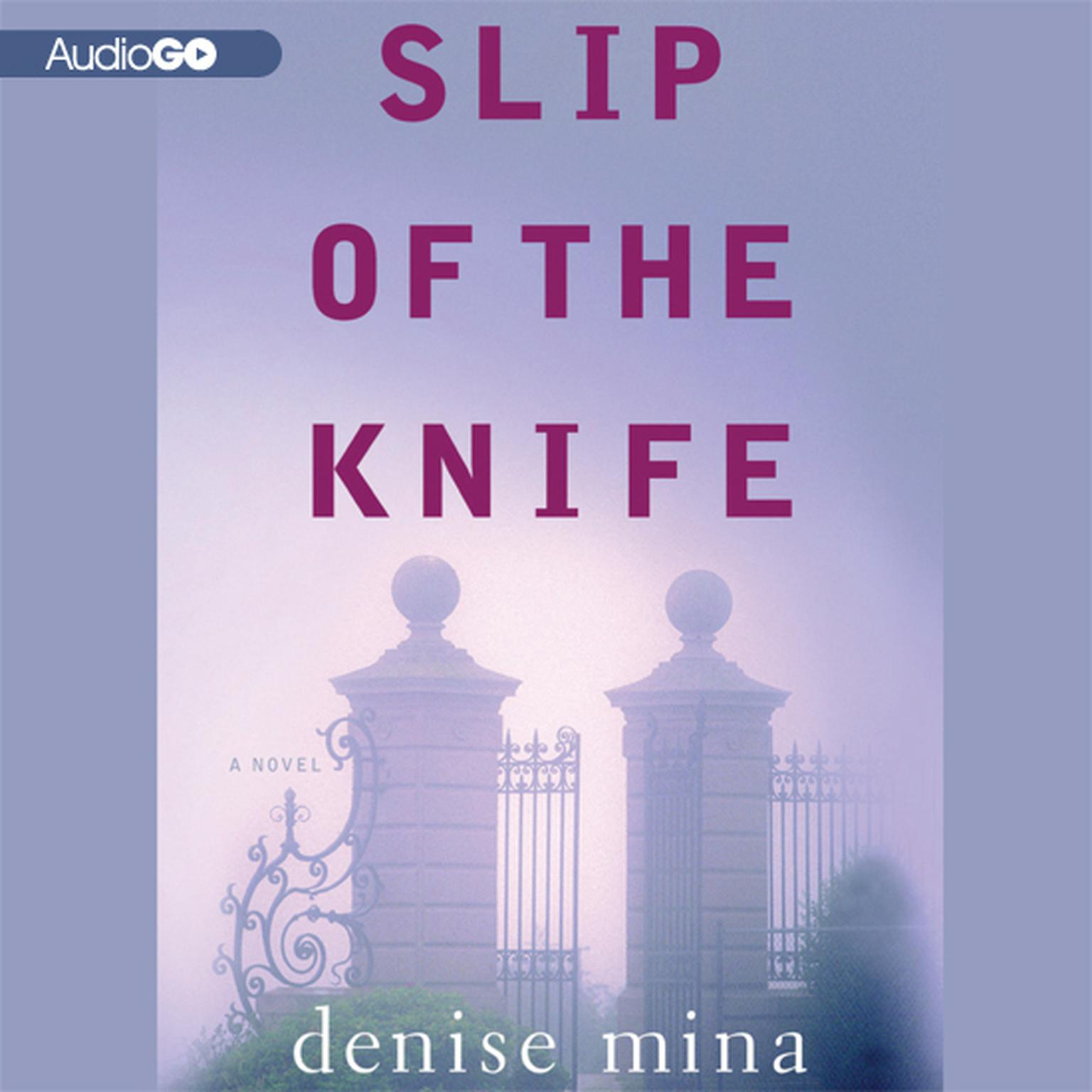 Printable Slip of the Knife Audiobook Cover Art