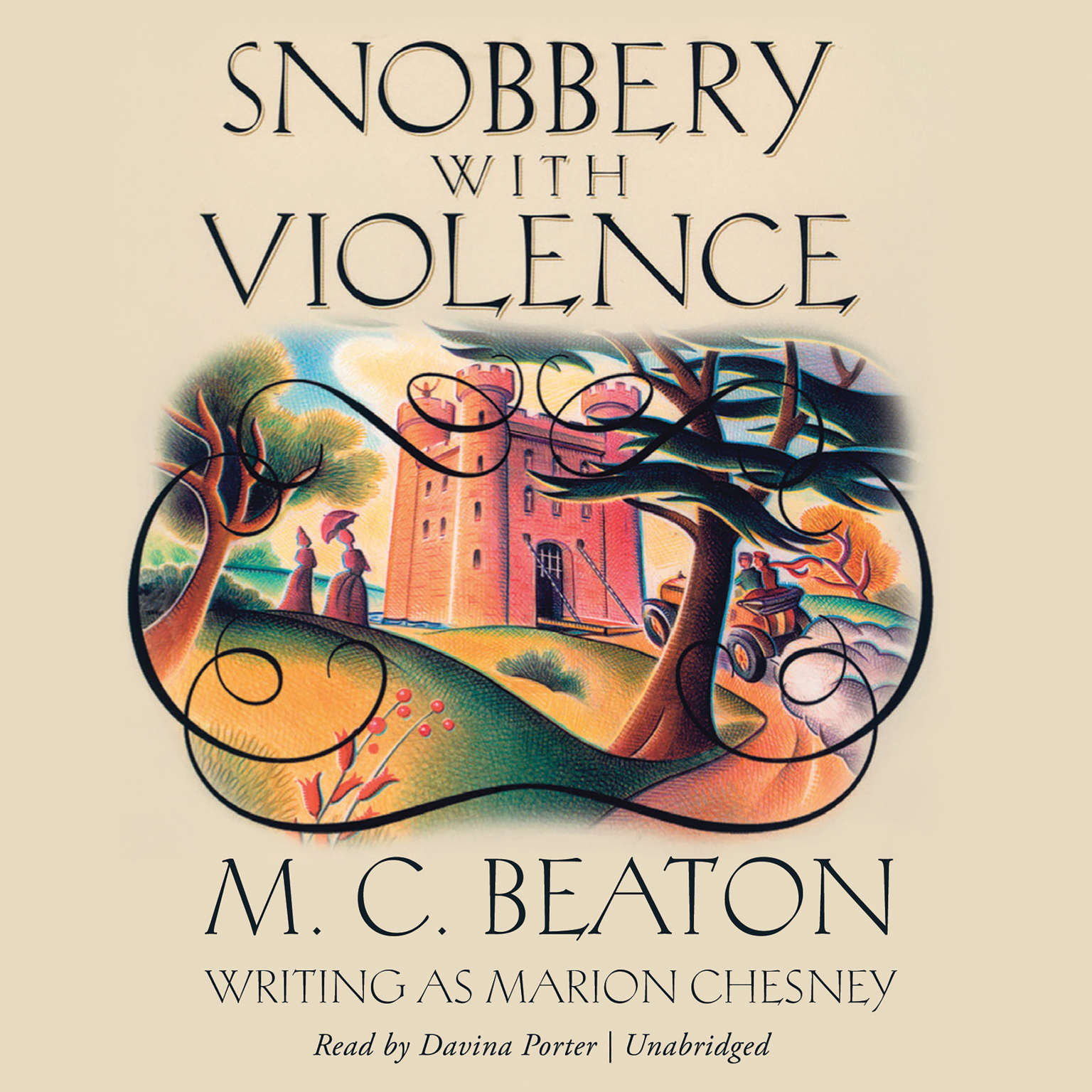 Printable Snobbery with Violence Audiobook Cover Art