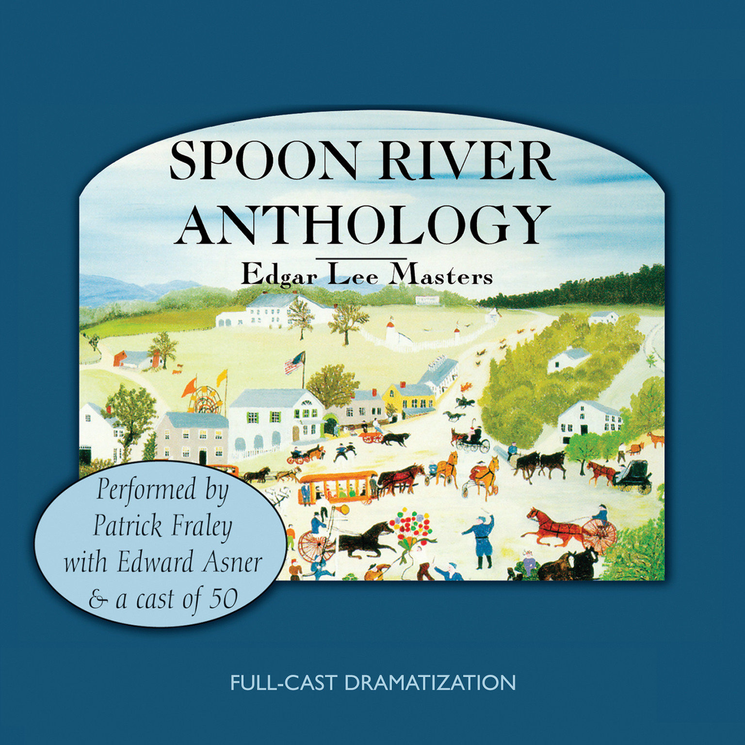 Printable Spoon River Anthology Audiobook Cover Art