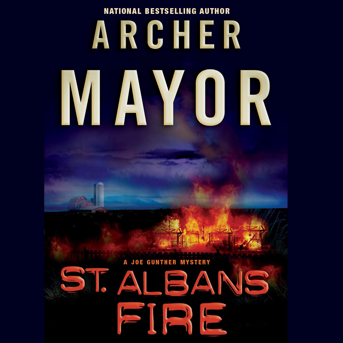 Printable St. Albans Fire Audiobook Cover Art