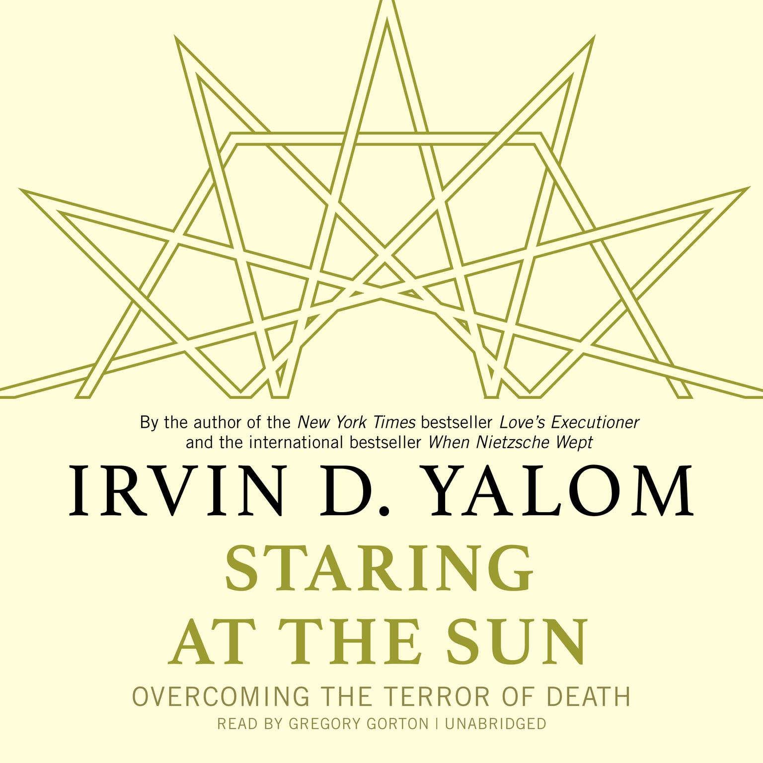 Printable Staring at the Sun: Overcoming the Terror of Death Audiobook Cover Art