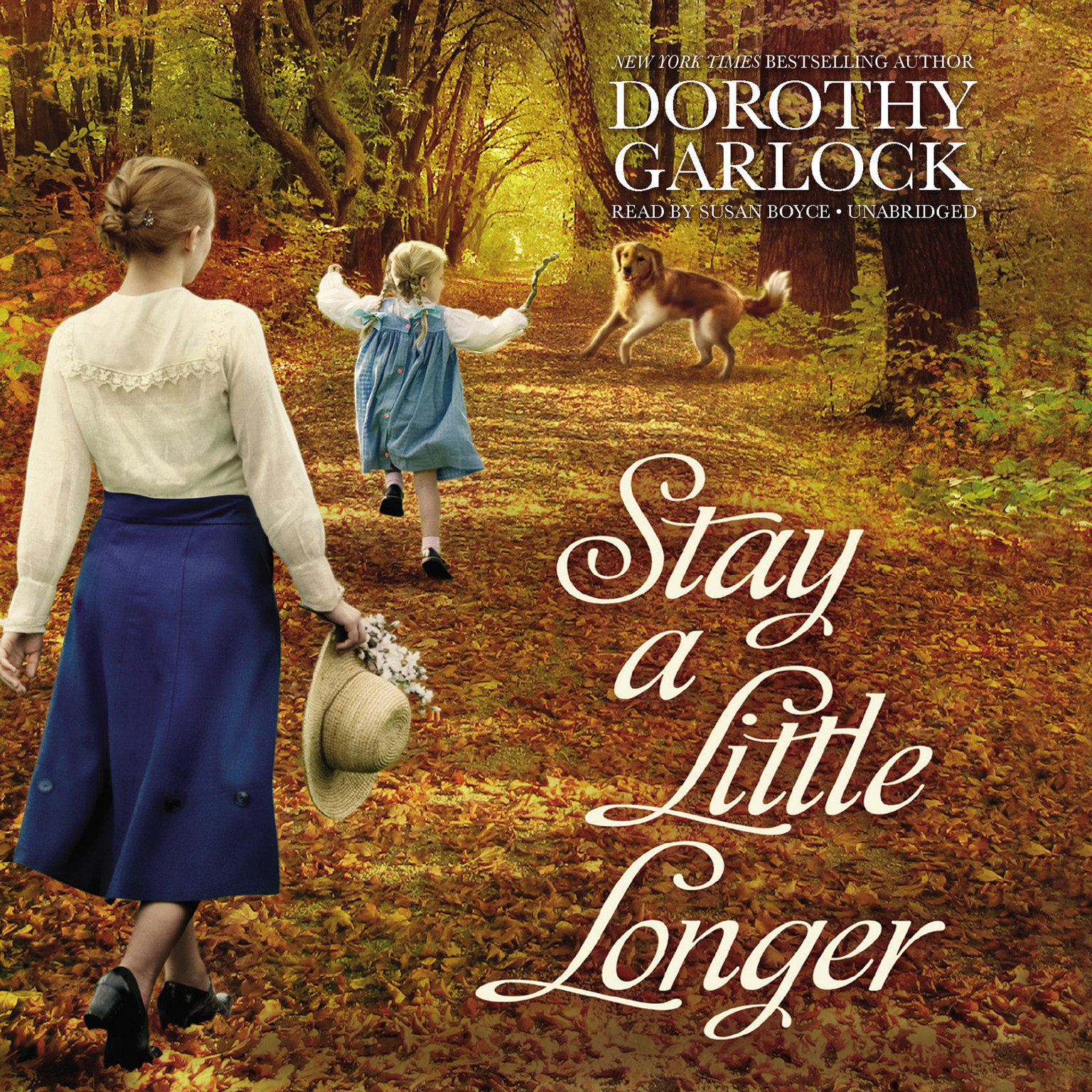 Printable Stay a Little Longer Audiobook Cover Art