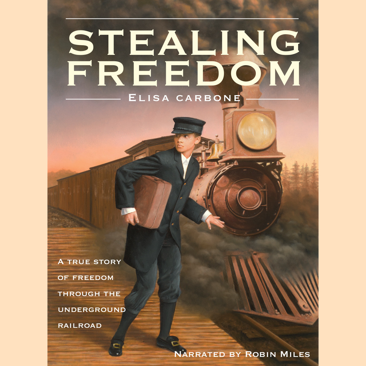 Printable Stealing Freedom Audiobook Cover Art