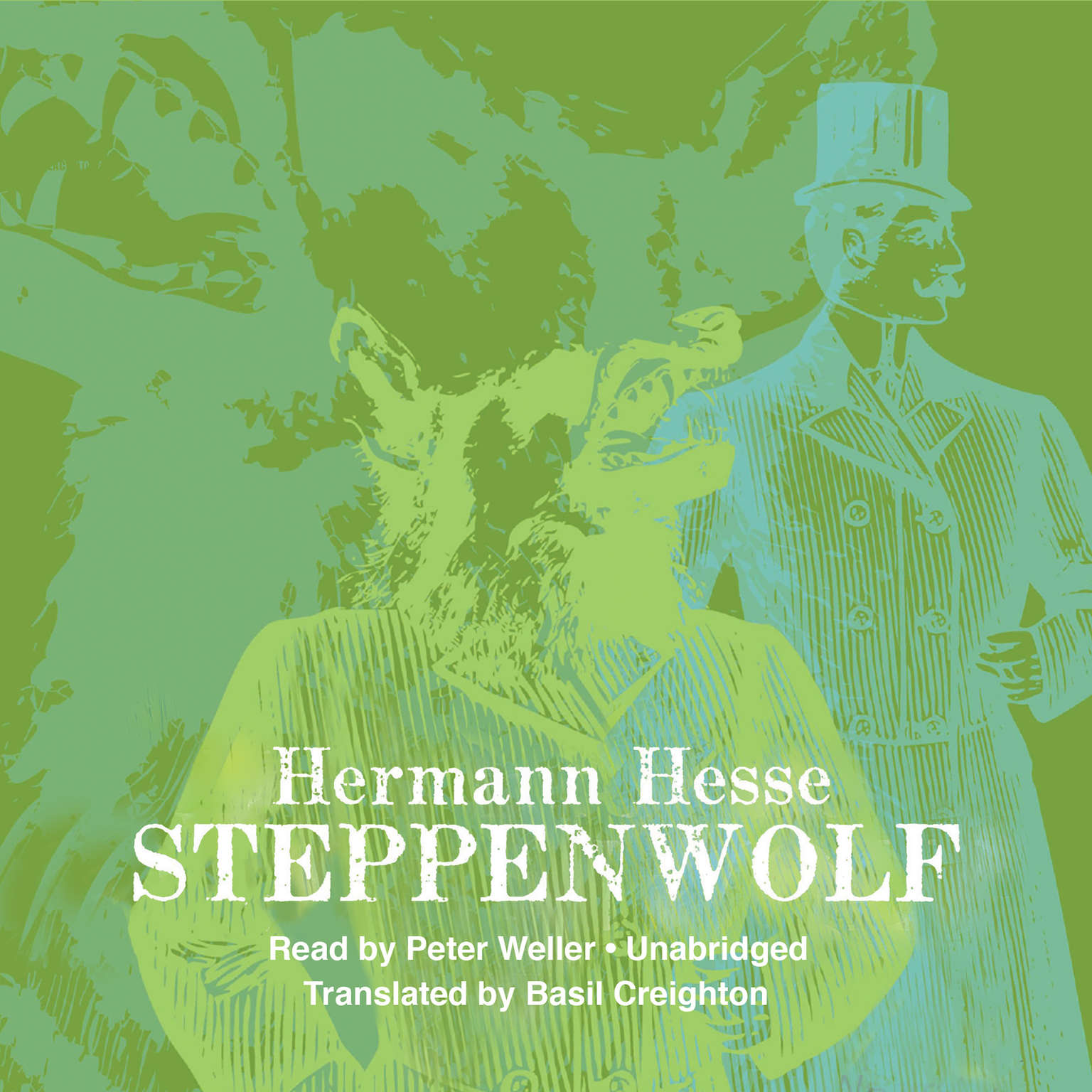Printable Steppenwolf Audiobook Cover Art