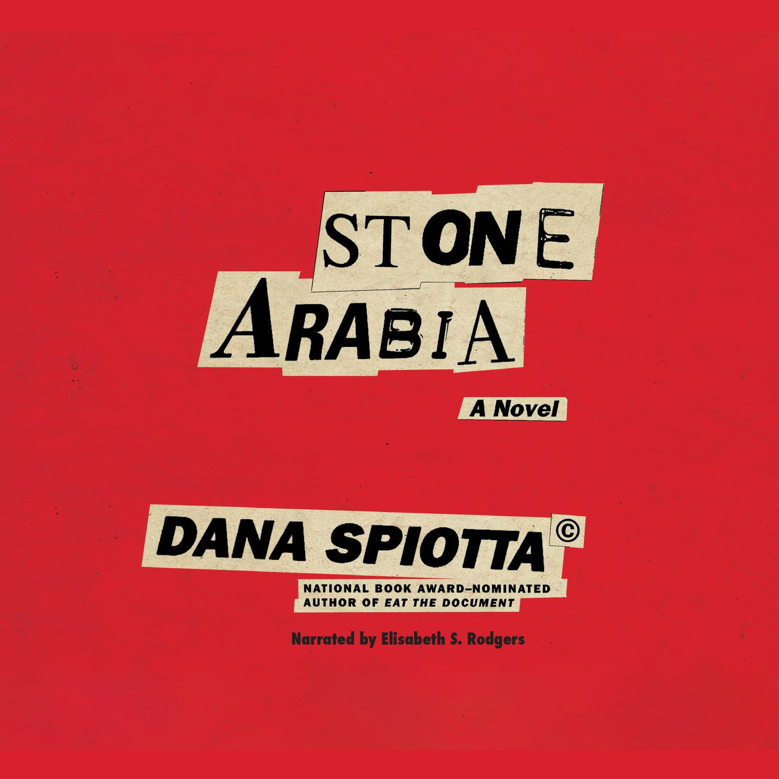 Printable Stone Arabia Audiobook Cover Art