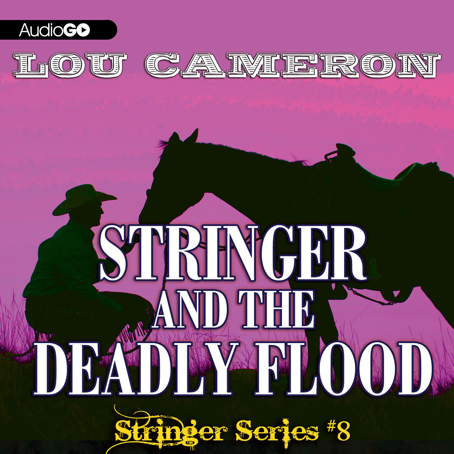 Printable Stringer and the Deadly Flood Audiobook Cover Art