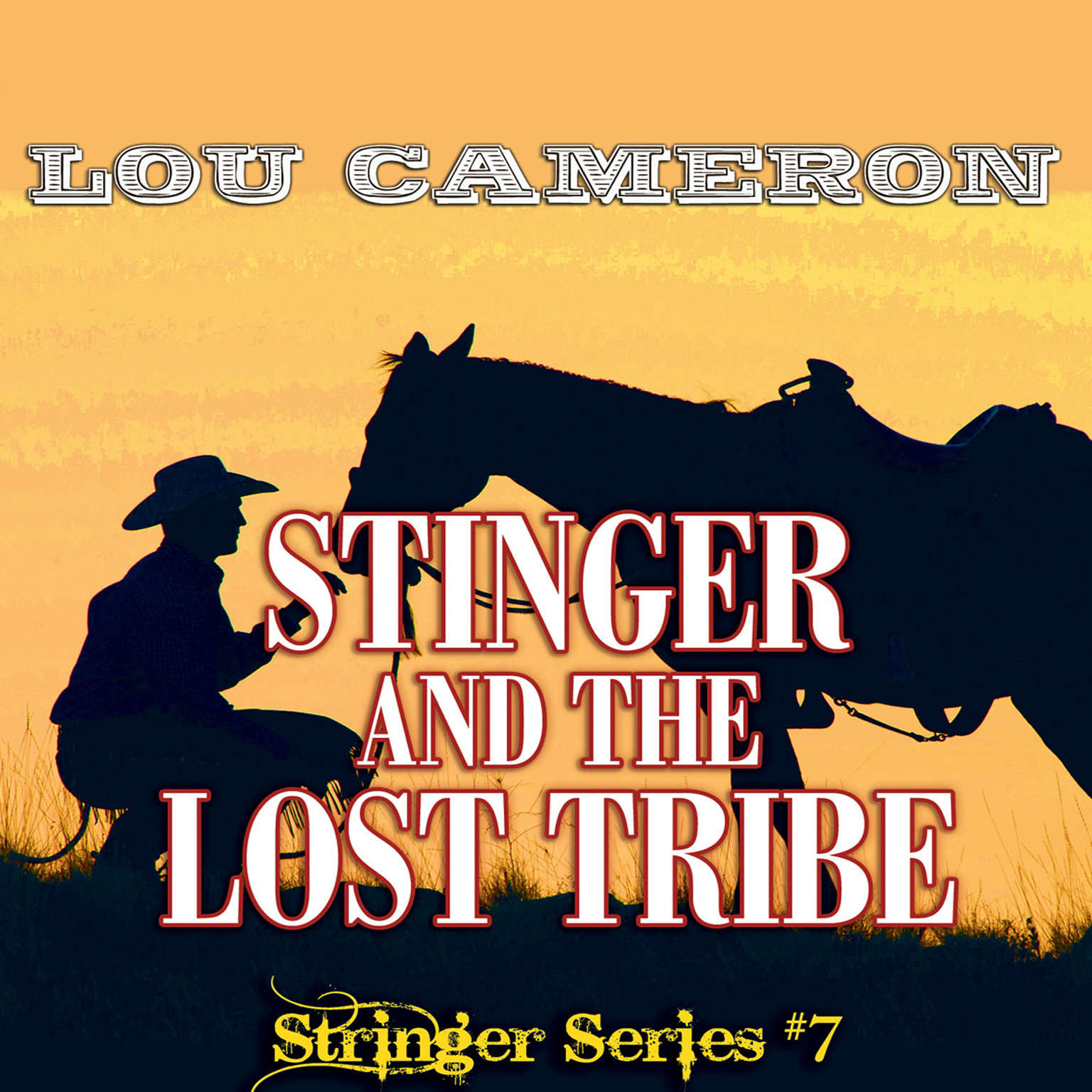 Printable Stringer and the Lost Tribe Audiobook Cover Art
